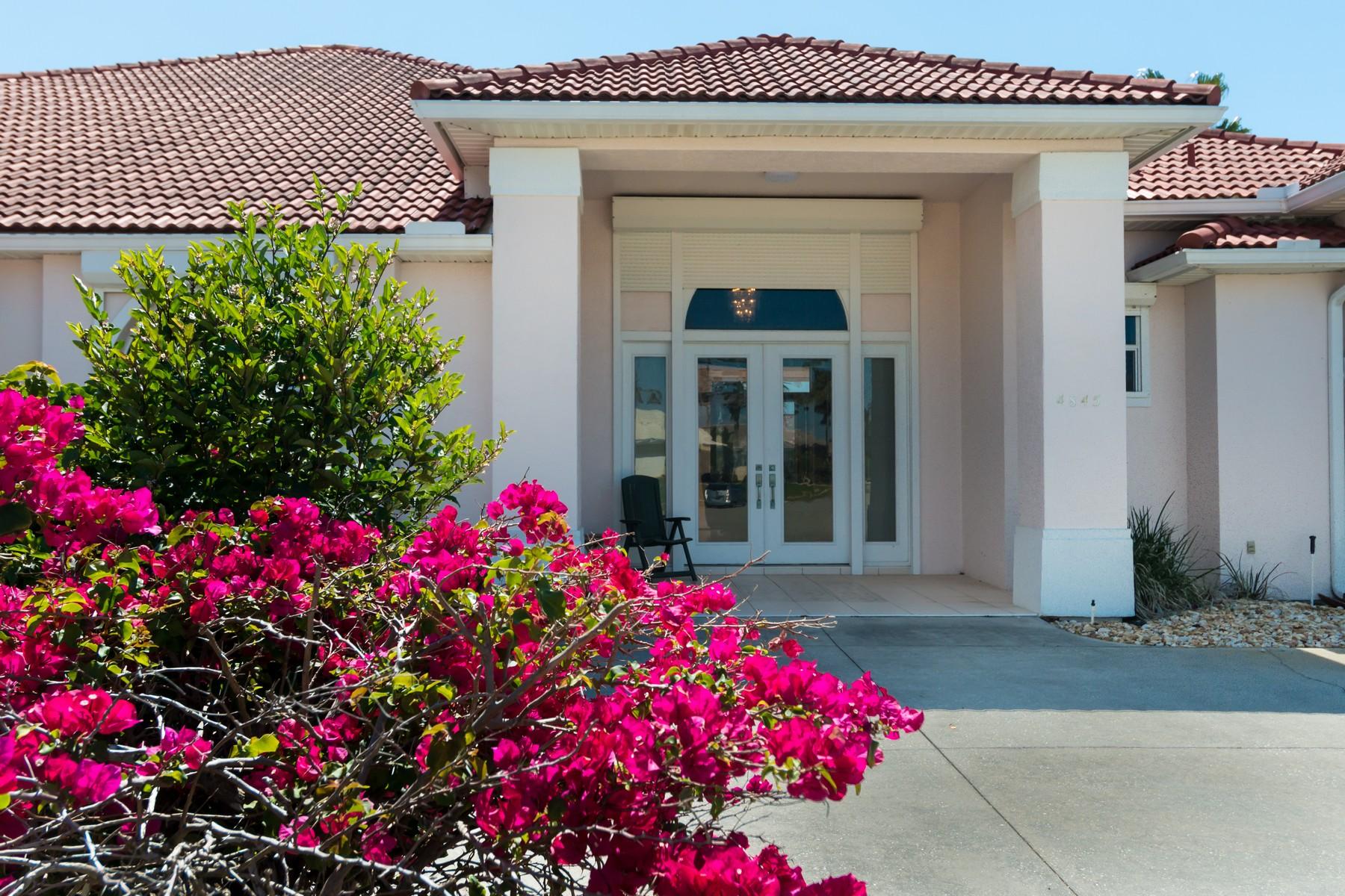 단독 가정 주택 용 매매 에 4845 Terrapin Court Melbourne Beach, 플로리다, 32951 미국