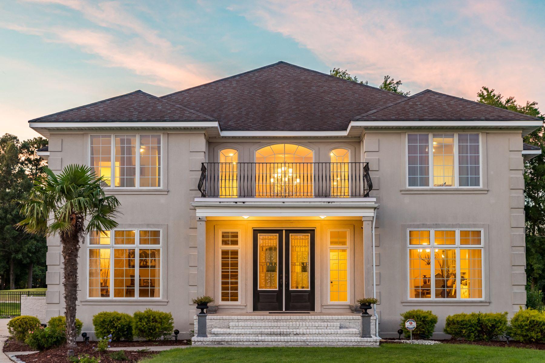 Single Family Homes للـ Sale في Heron Ridge Estates 2248 Lynx Drive, Virginia Beach, Virginia 23456 United States