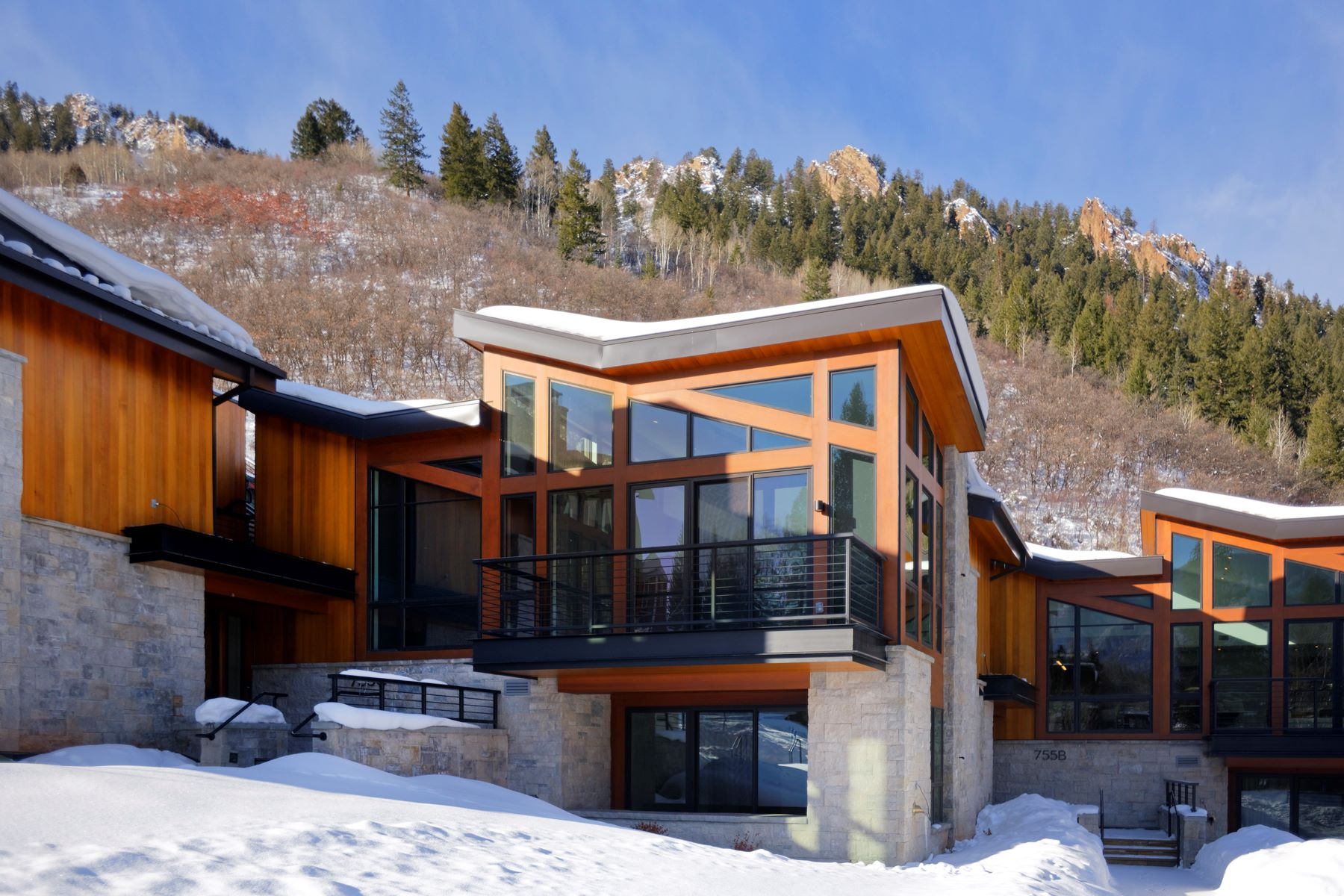 townhouses for Sale at One Aspen 755 S Aspen Street Unit B Aspen, Colorado 81611 United States