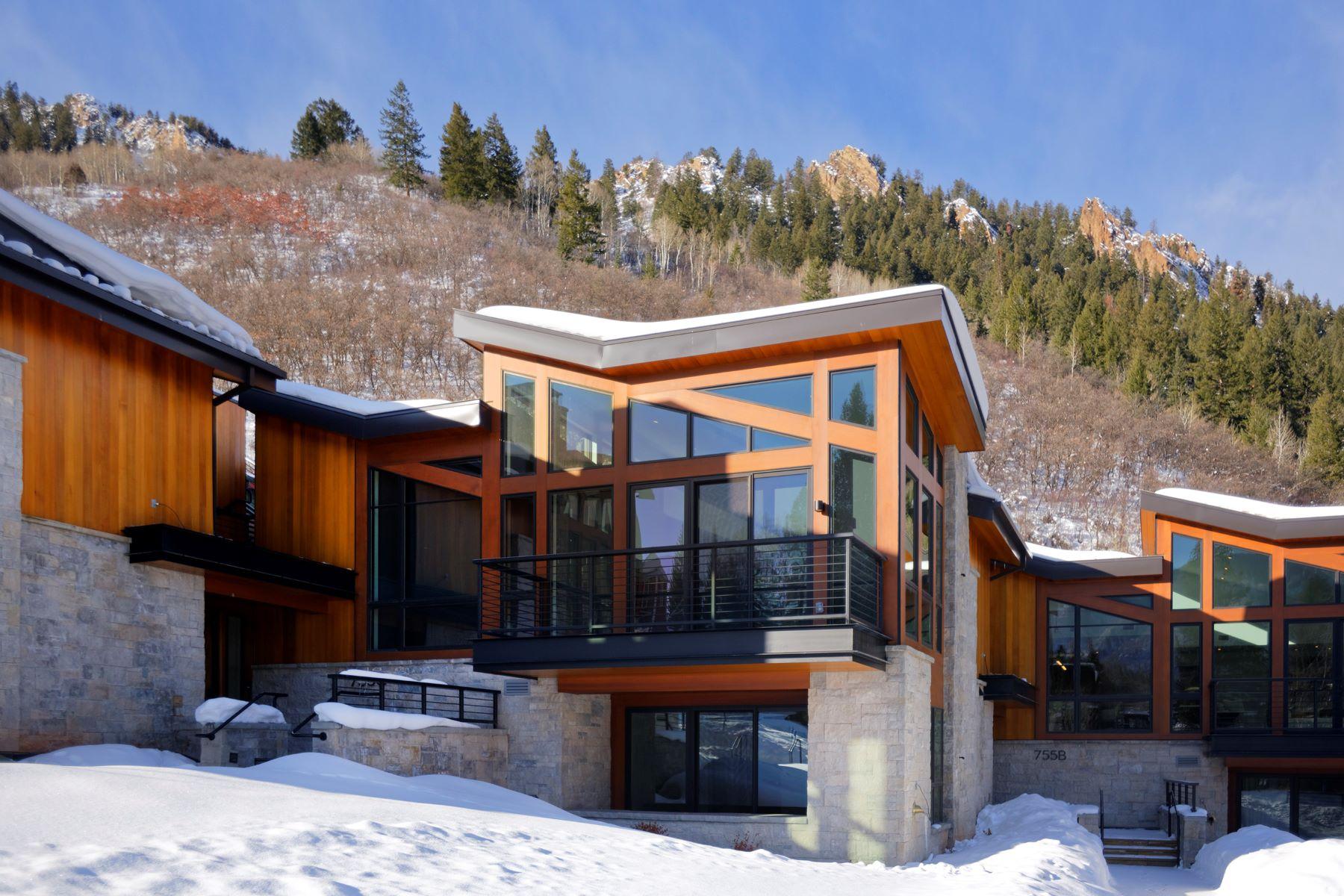 townhouses for Active at One Aspen 755 S Aspen Street Unit B Aspen, Colorado 81611 United States