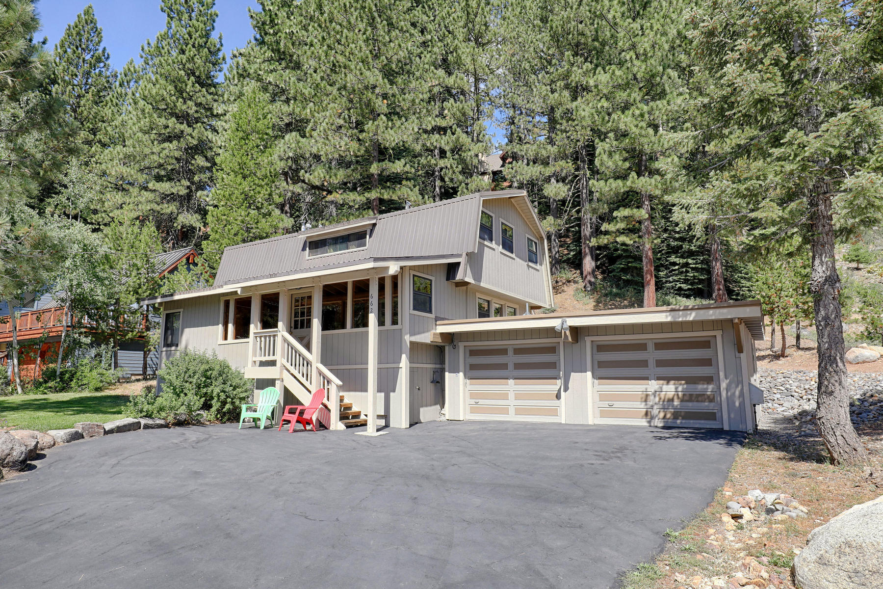 Single Family Homes 为 销售 在 662 Victor Place, Olympic Valley, CA 662 Victor Place 奥林匹克山, 加利福尼亚州 96146 美国
