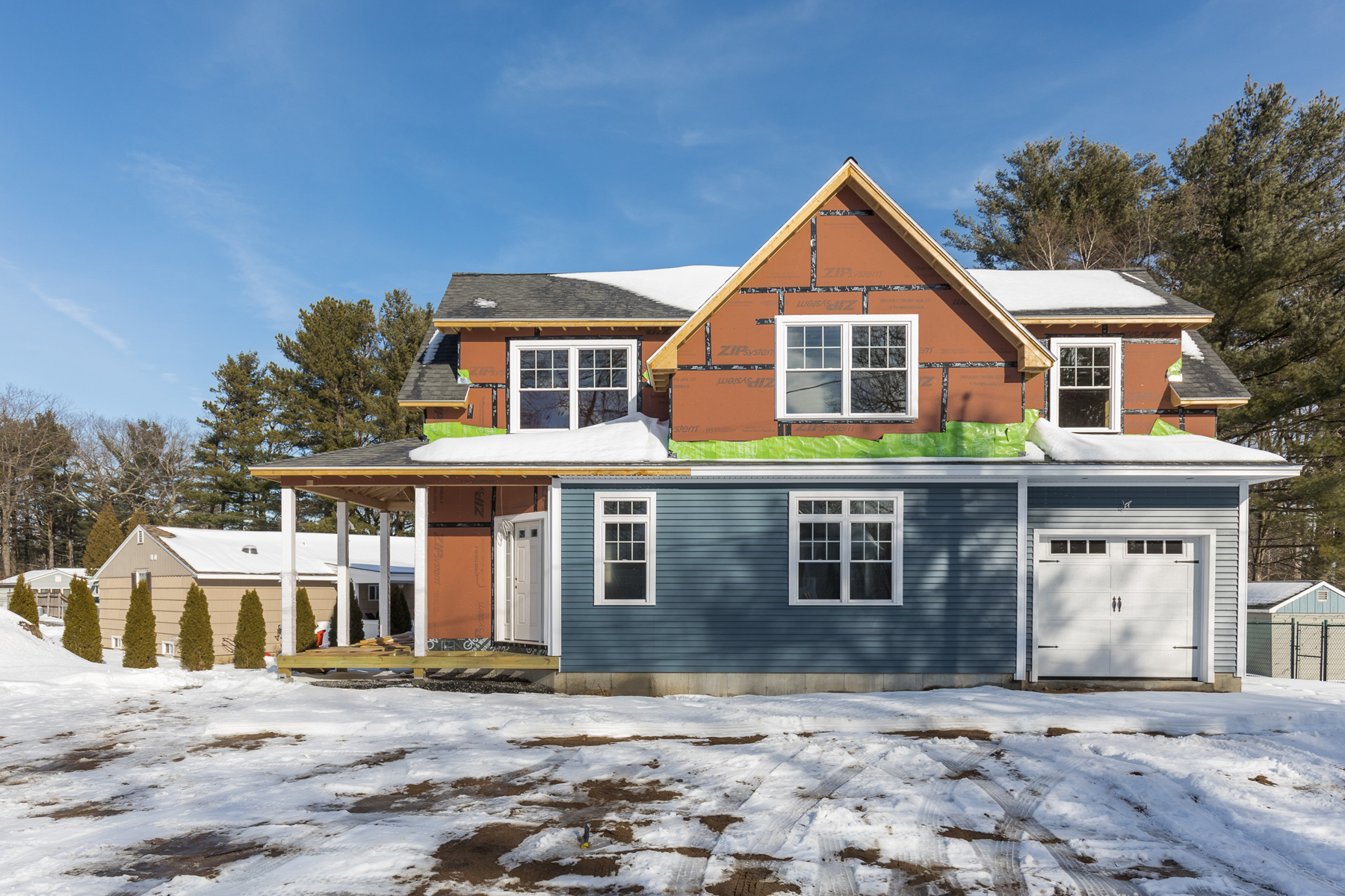 Single Family Home for Sale at New Construction in Moody's Bourne Fields 3 Cranberry Street Wells, Maine, 04090 United States
