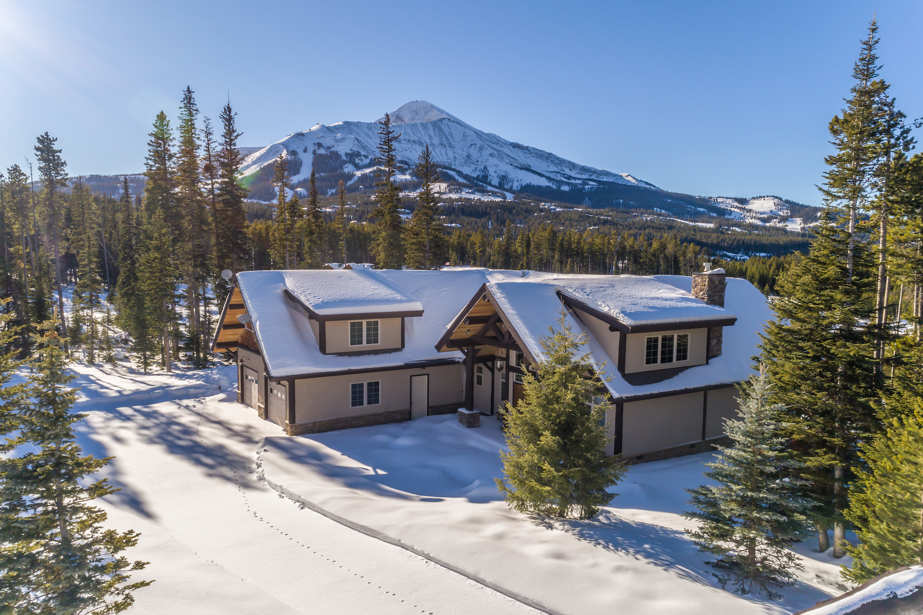 Single Family Home for Active at Custom Home in Ulerys Lakes of Moonlight 22 Ulerys Lakes Road Big Sky, Montana 59716 United States