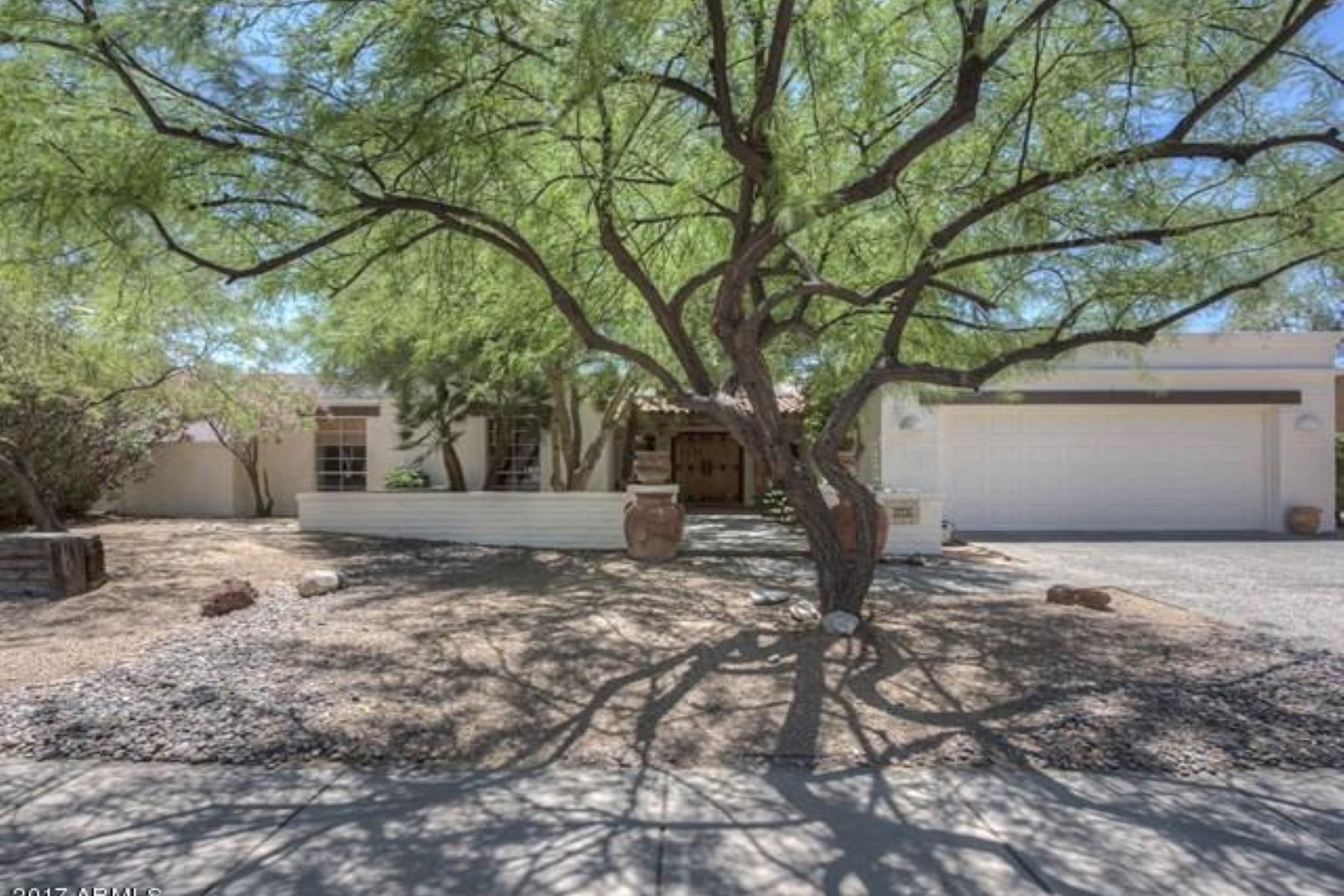 Частный односемейный дом для того Продажа на Beautiful home in the desirable McCormcik Ranch community 7607 E Via De Corto Scottsdale, Аризона, 85258 Соединенные Штаты