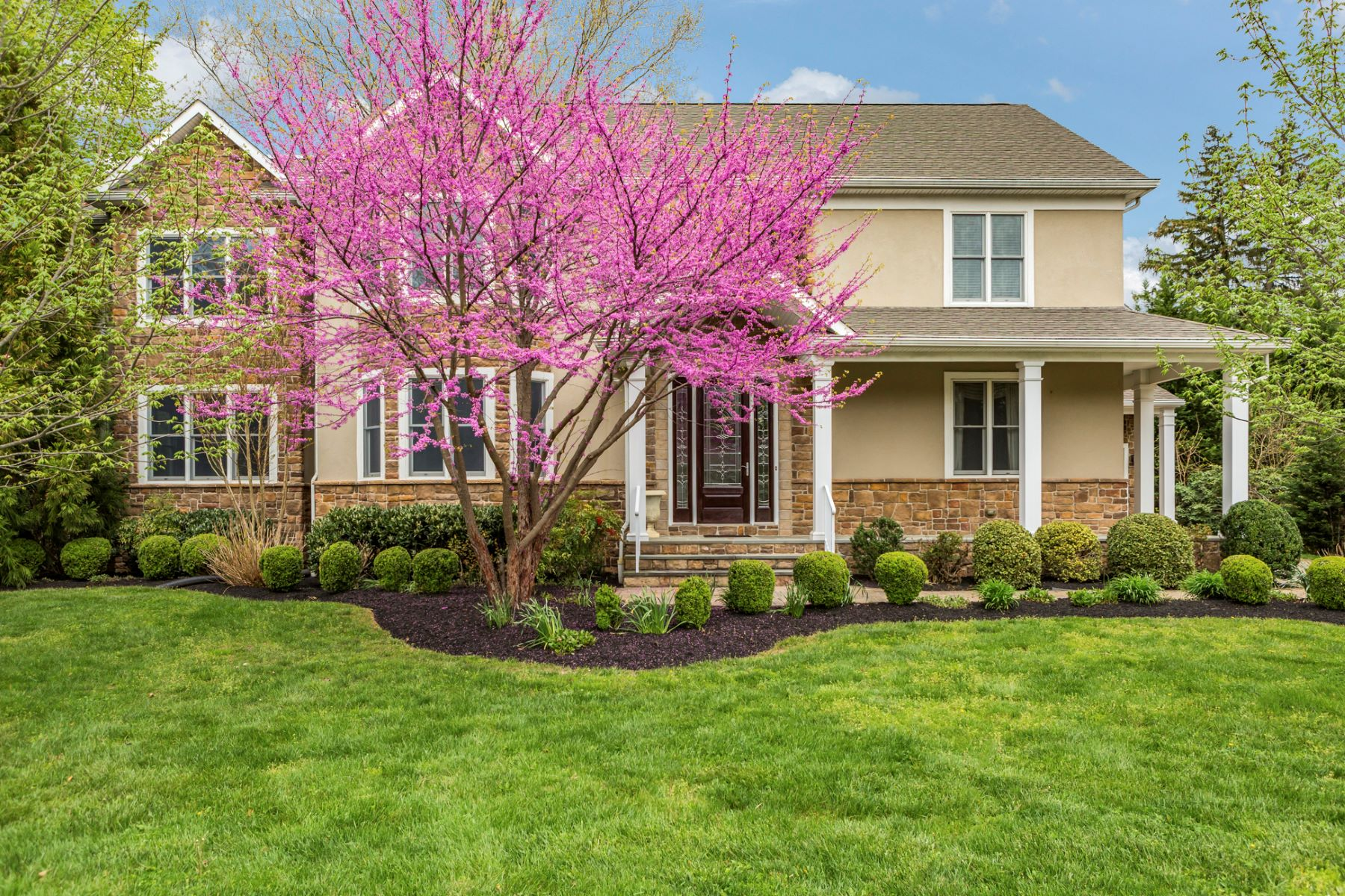 Single Family Home for Sale at Elegance and Comfort in Custom Lawrenceville Home - Lawrence Township 2 Shelmet Lane Lawrenceville, New Jersey 08648 United States