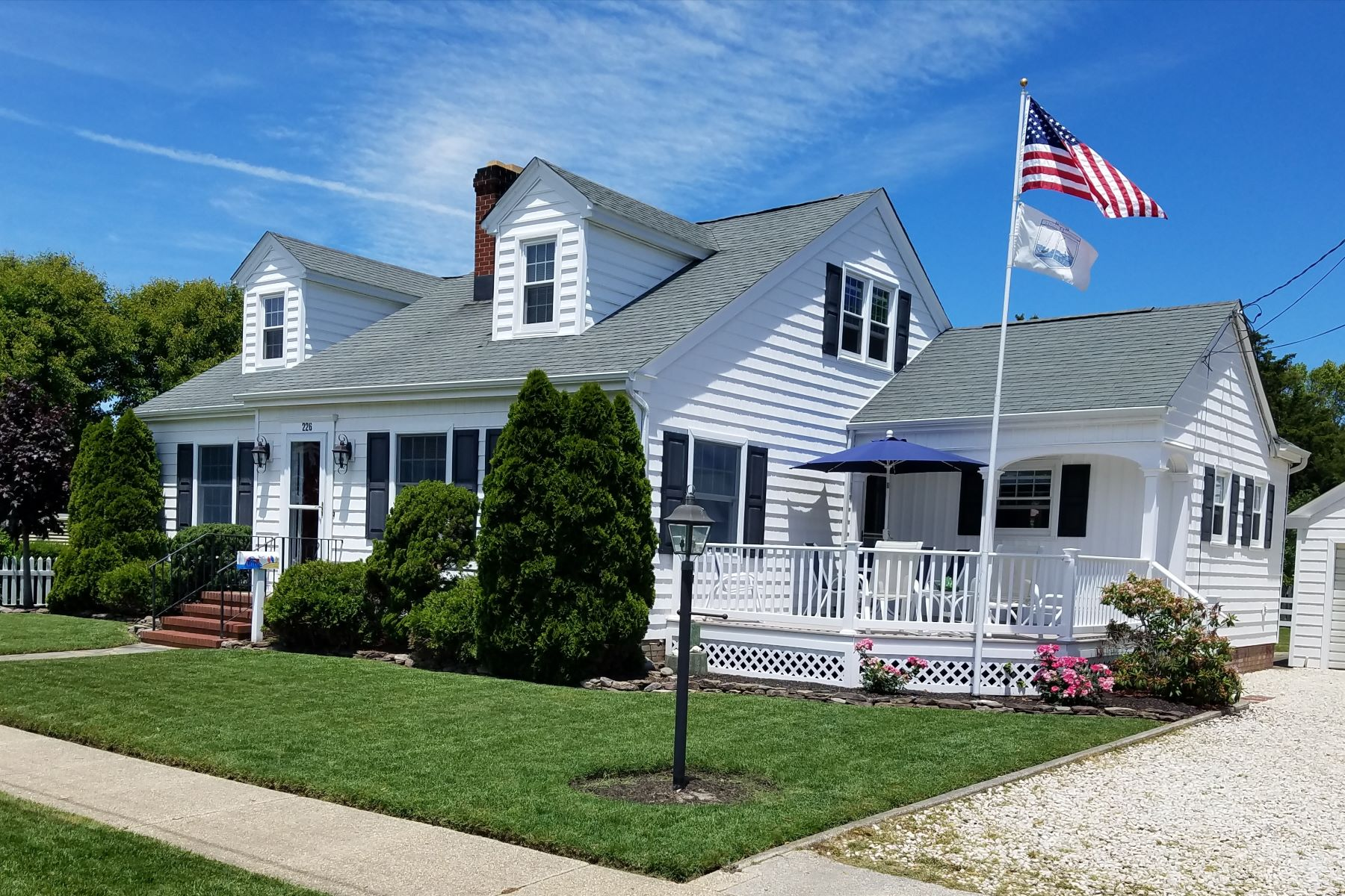 Single Family Home for Rent at Comfortable Vacation Home 226 107th Street, Stone Harbor, New Jersey 08247 United States