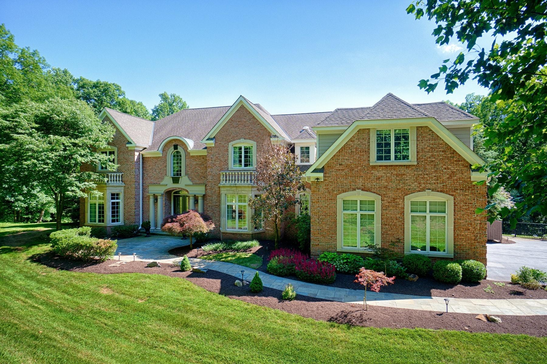 Частный односемейный дом для того Продажа на Grand Beacon Hill Estate 40321 Beacon Hill Drive Leesburg, Виргиния 20176 Соединенные Штаты