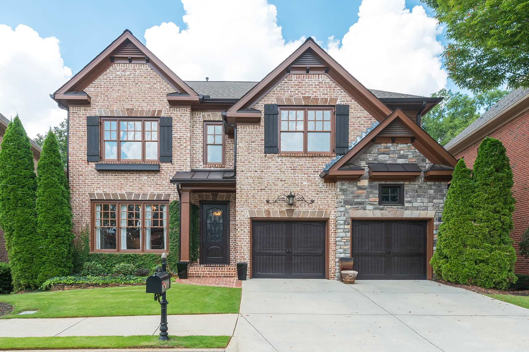 Single Family Home for Sale at Stunning Master-On-Main That Backs Up To The Alpharetta Greenway 230 Society Street Alpharetta, Georgia 30022 United States