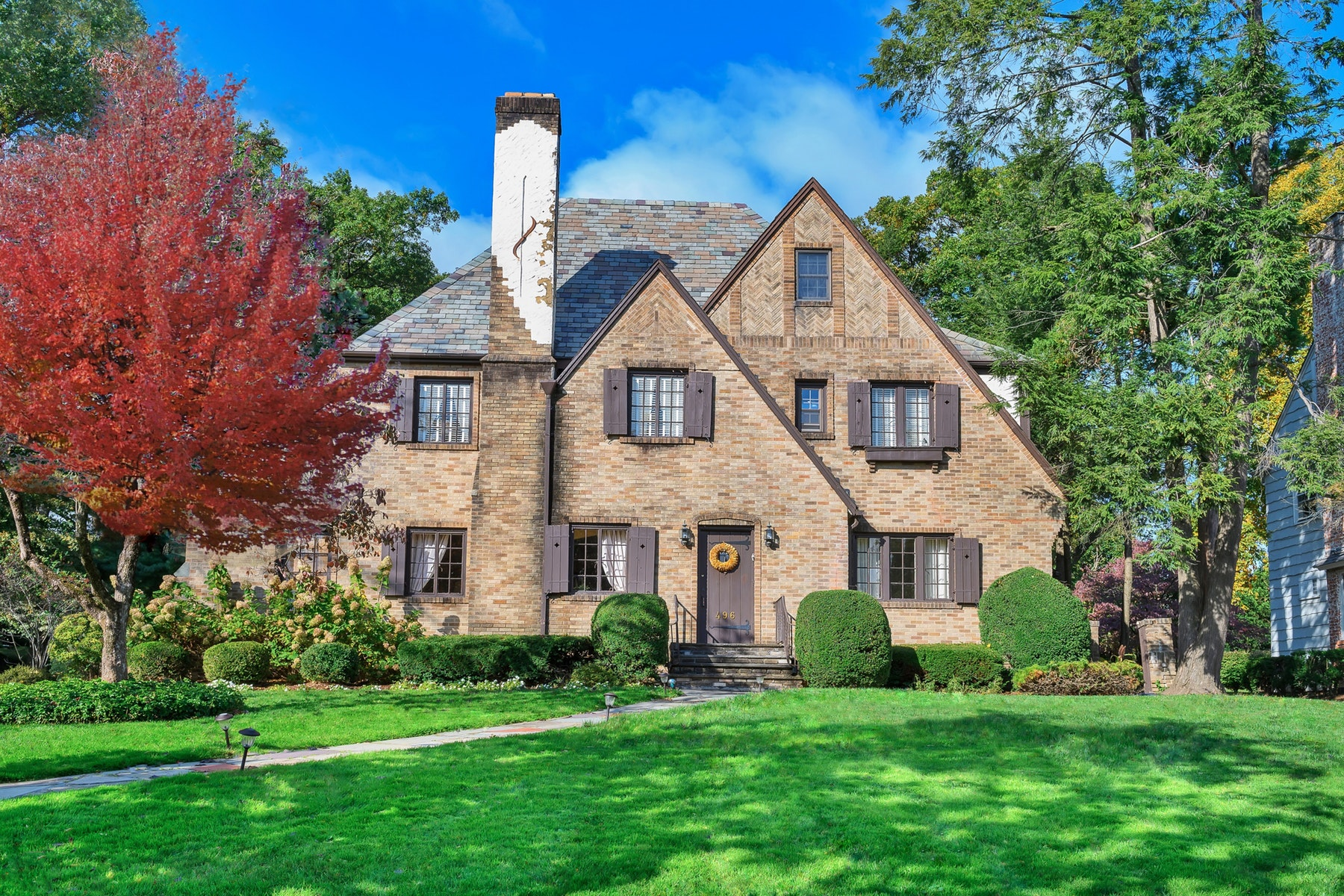 Single Family Homes for Sale at Classic Tudor 496 Ridgewood Avenue, Glen Ridge, New Jersey 07028 United States