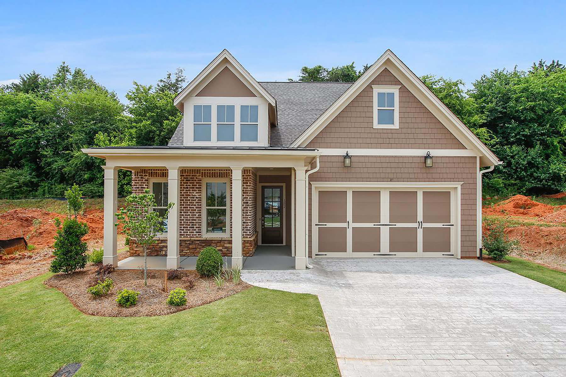 Single Family Homes 为 销售 在 Luxury Active Adult Community Home With Cottage-Style Architecture 400 Loblolly Road Woodstock, 乔治亚州 30188 美国