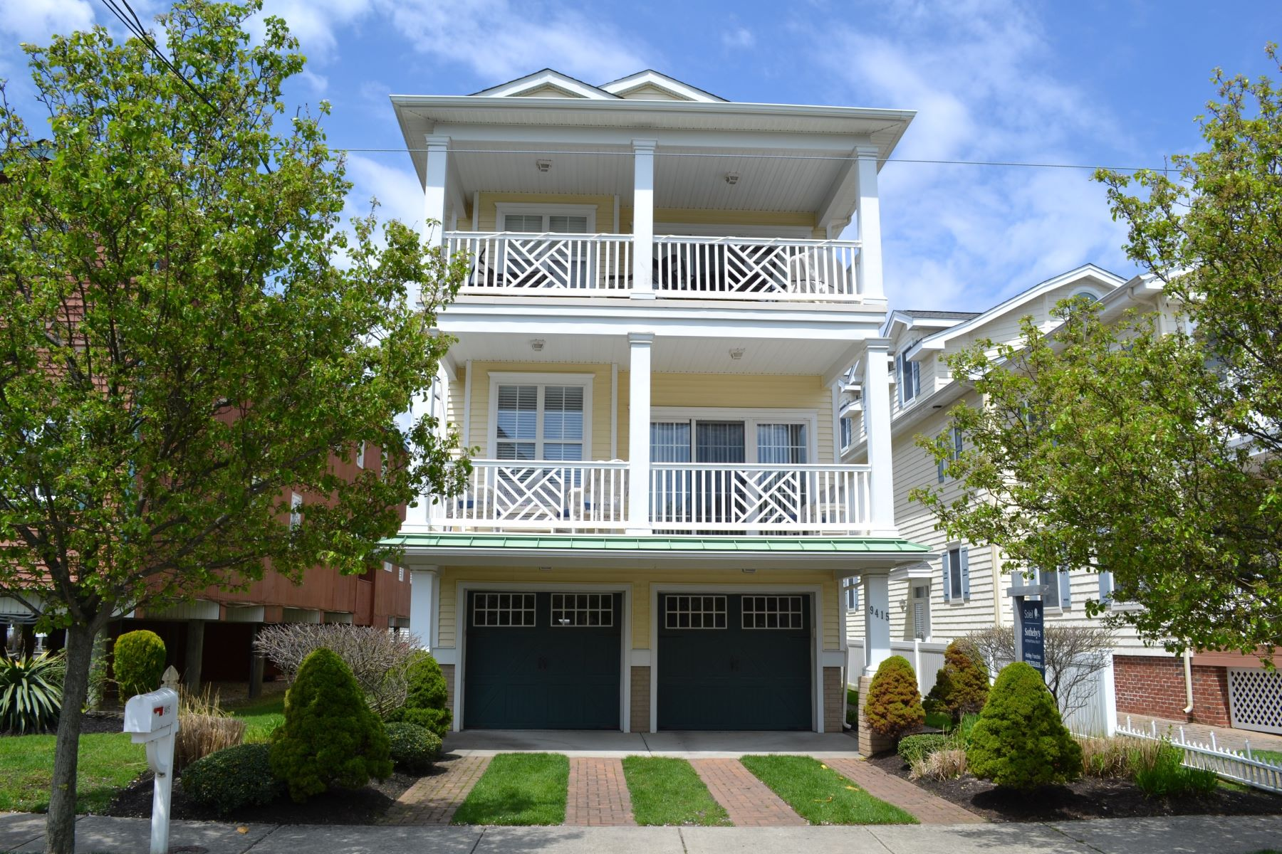 Condominiums for Rent at 9415 Winchester Ave Unit A, AUGUST, Margate, New Jersey 08402 United States