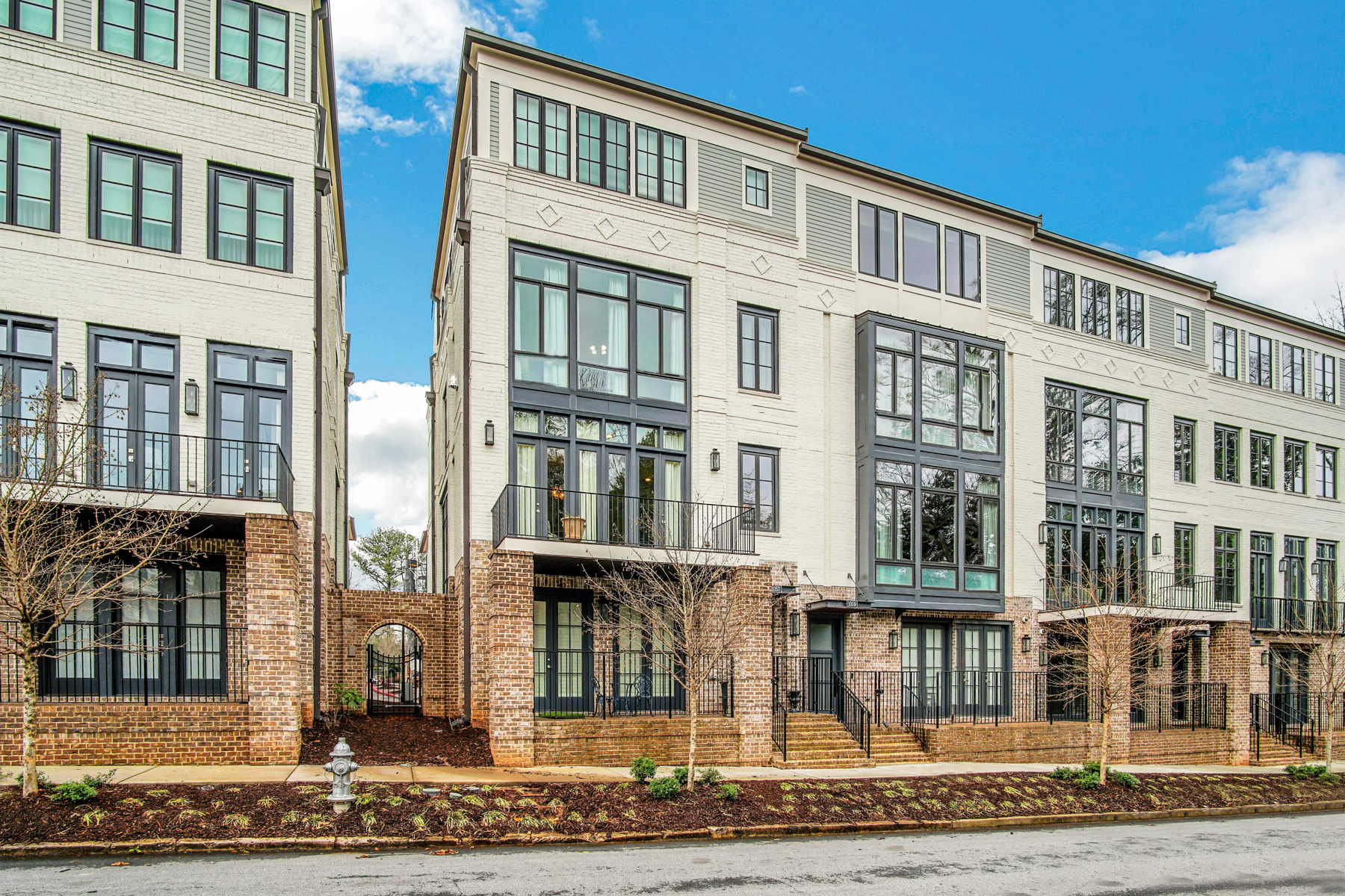 townhouses for Sale at Exceptionally Designed End Unit Townhome in Historic Brookhaven 1057 Abington Court Brookhaven, Georgia 30319 United States