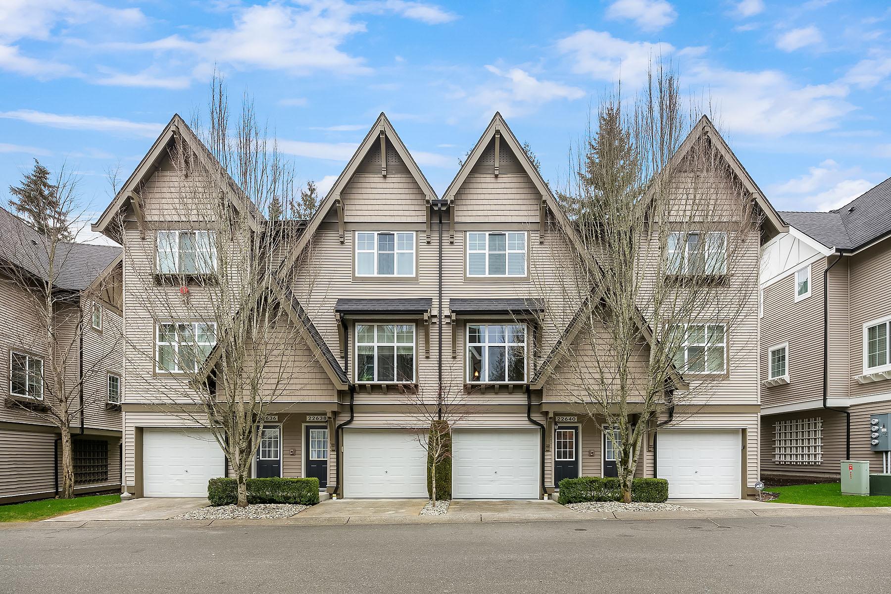 Condominiums por un Venta en Narture's Walk at Redmond Ridge 22640 NE Alder Crest Lane Redmond, Washington 98053 Estados Unidos