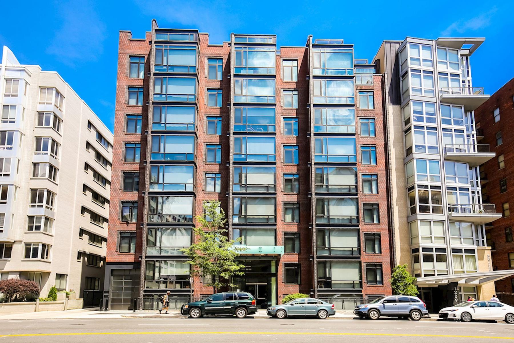 共管式独立产权公寓 为 销售 在 1211 13th Street Nw 701, Washington 华盛顿市, 哥伦比亚特区, 20005 美国