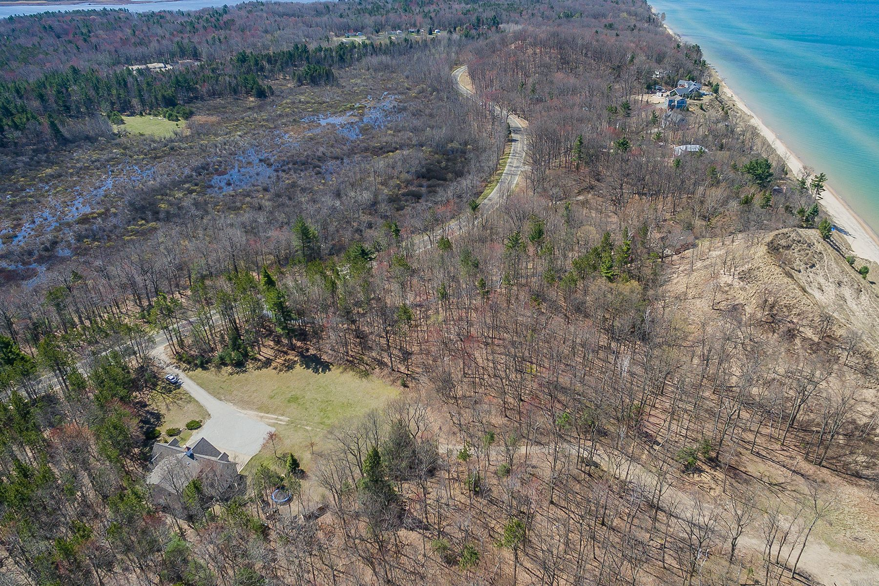 Land for Sale at Serene Lakeshore Property 4500 Lakeshore Road Lot 5 Manistee, Michigan 49660 United States