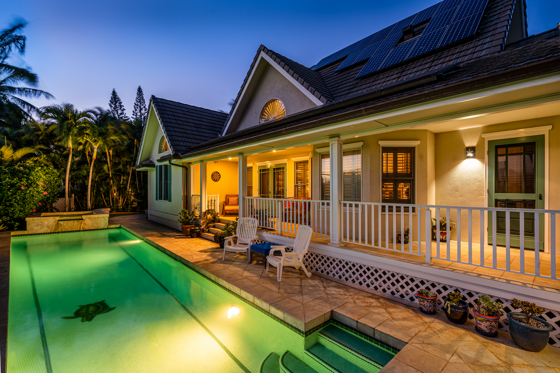 Single Family Homes for Active at Vintage Hawaiiana Style With Modern Sensibility 4946 Lower Honoapiilani Rd Lahaina, Hawaii 96761 United States