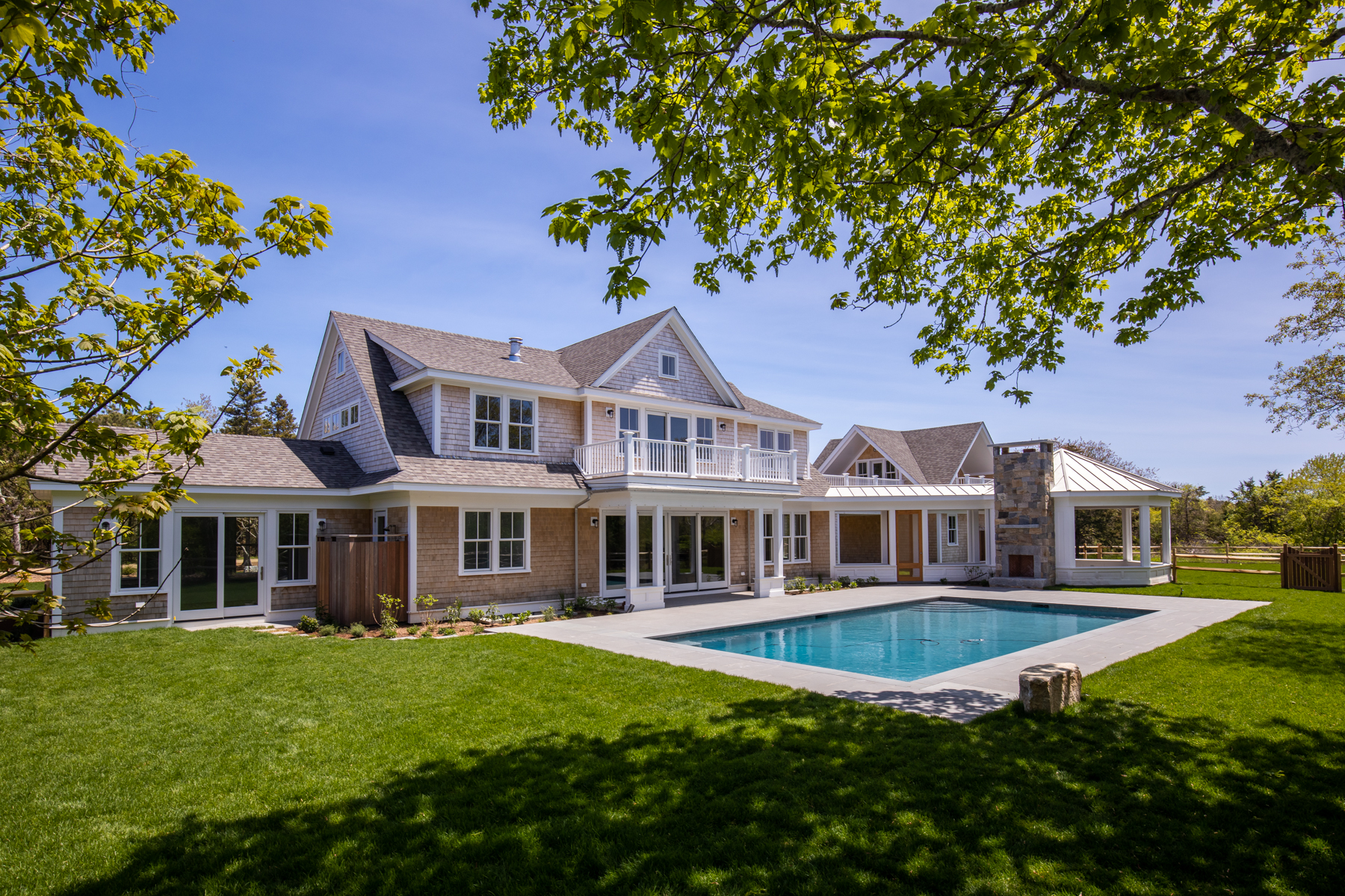 Single Family Homes for Active at New Construction in Katama with Pool 20 West Street Edgartown, Massachusetts 02539 United States