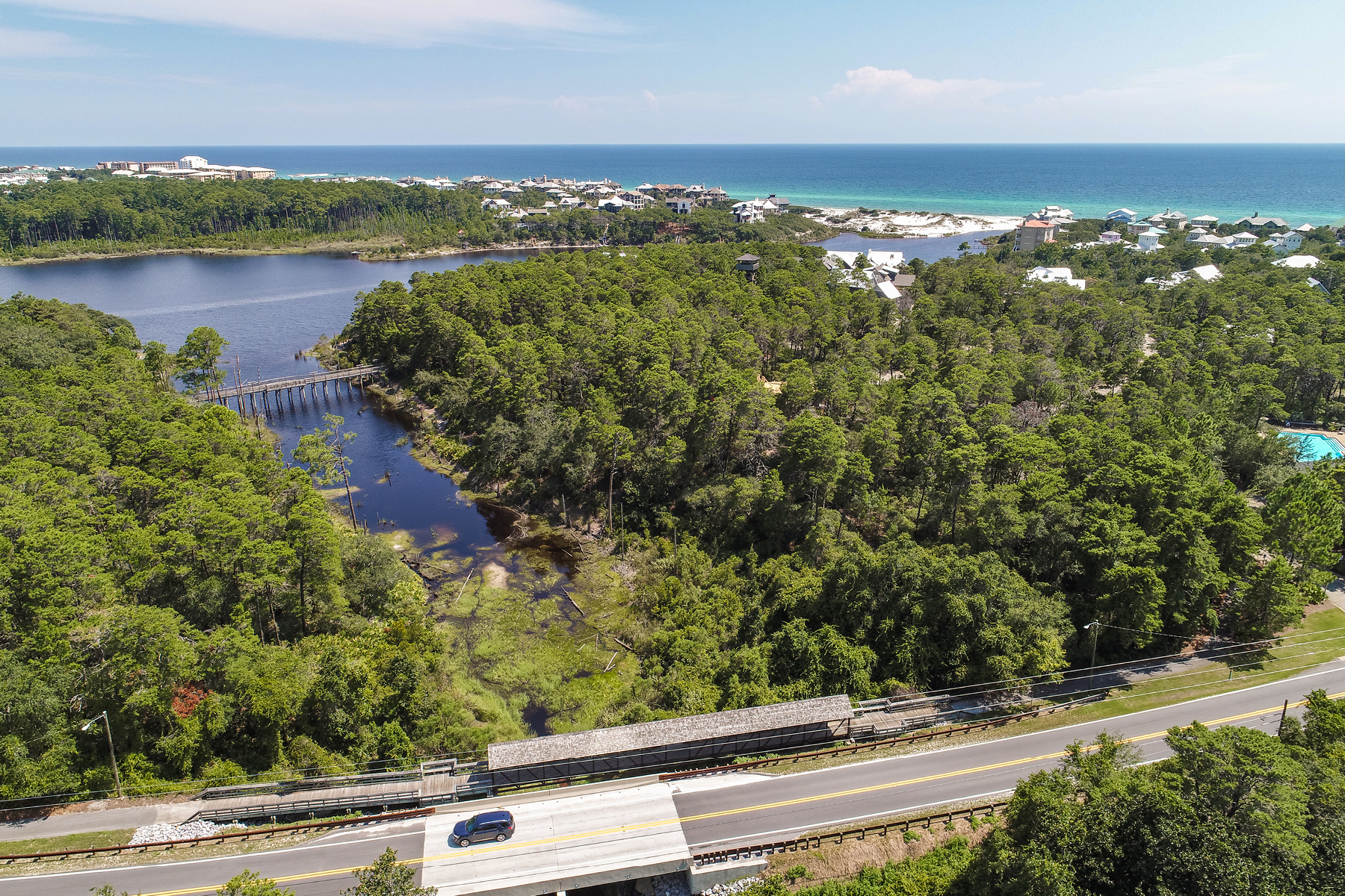 Земля для того Продажа на Lakefront Home Site in Gated 30A Community Lot 3 Block 5 Post Lane, Santa Rosa Beach, Флорида, 32459 Соединенные Штаты