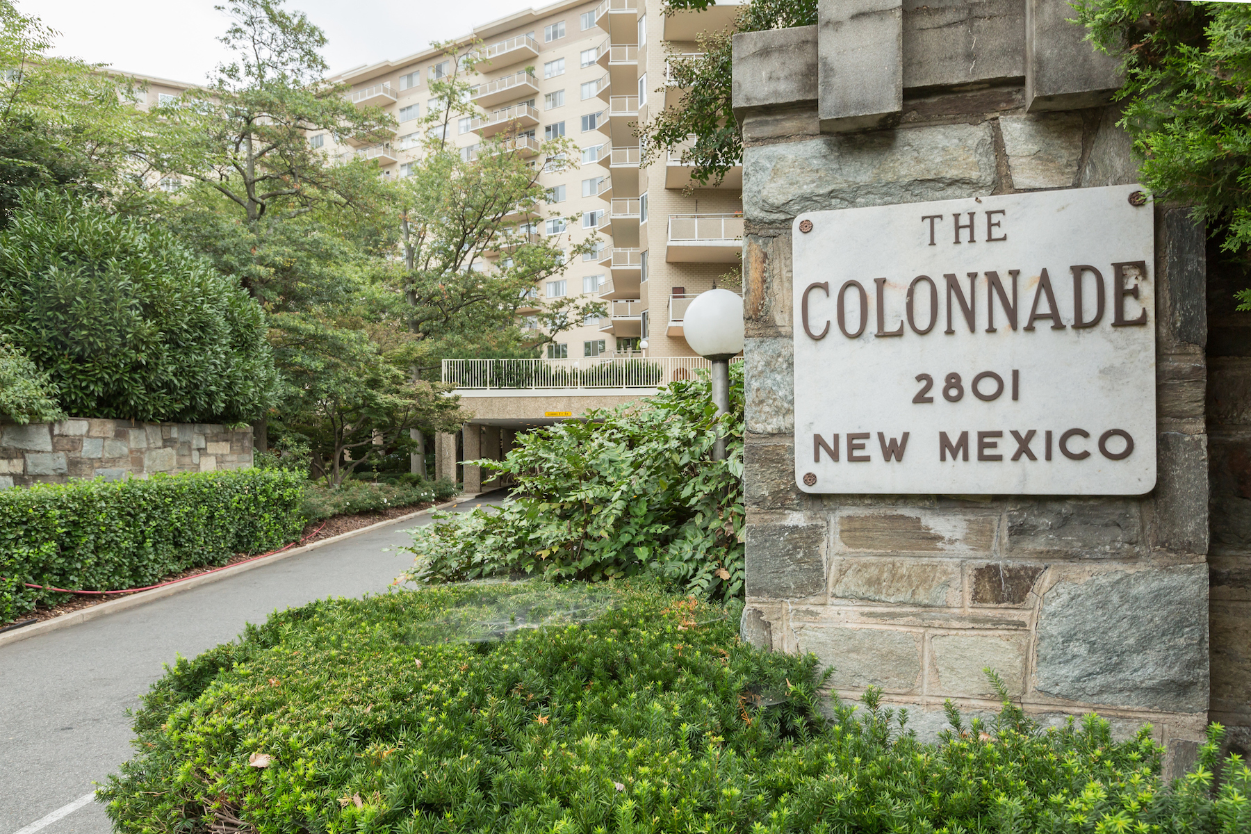 Single Family Home for Sale at The Colonnade 2801 New Mexico Ave 1110-1111 Washington, District Of Columbia, 20007 United States