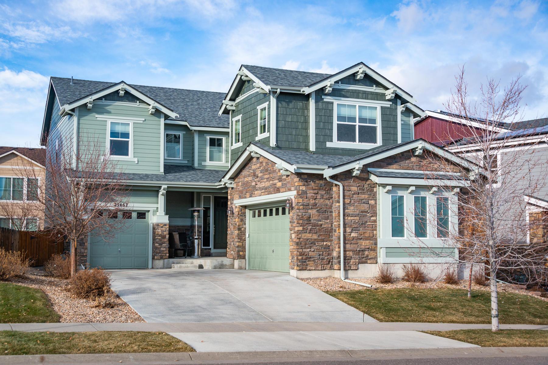 Single Family Homes のために 売買 アット Amazing Executive Home in The Wheatlands 25467 E Arbor Drive, Aurora, コロラド 80016 アメリカ