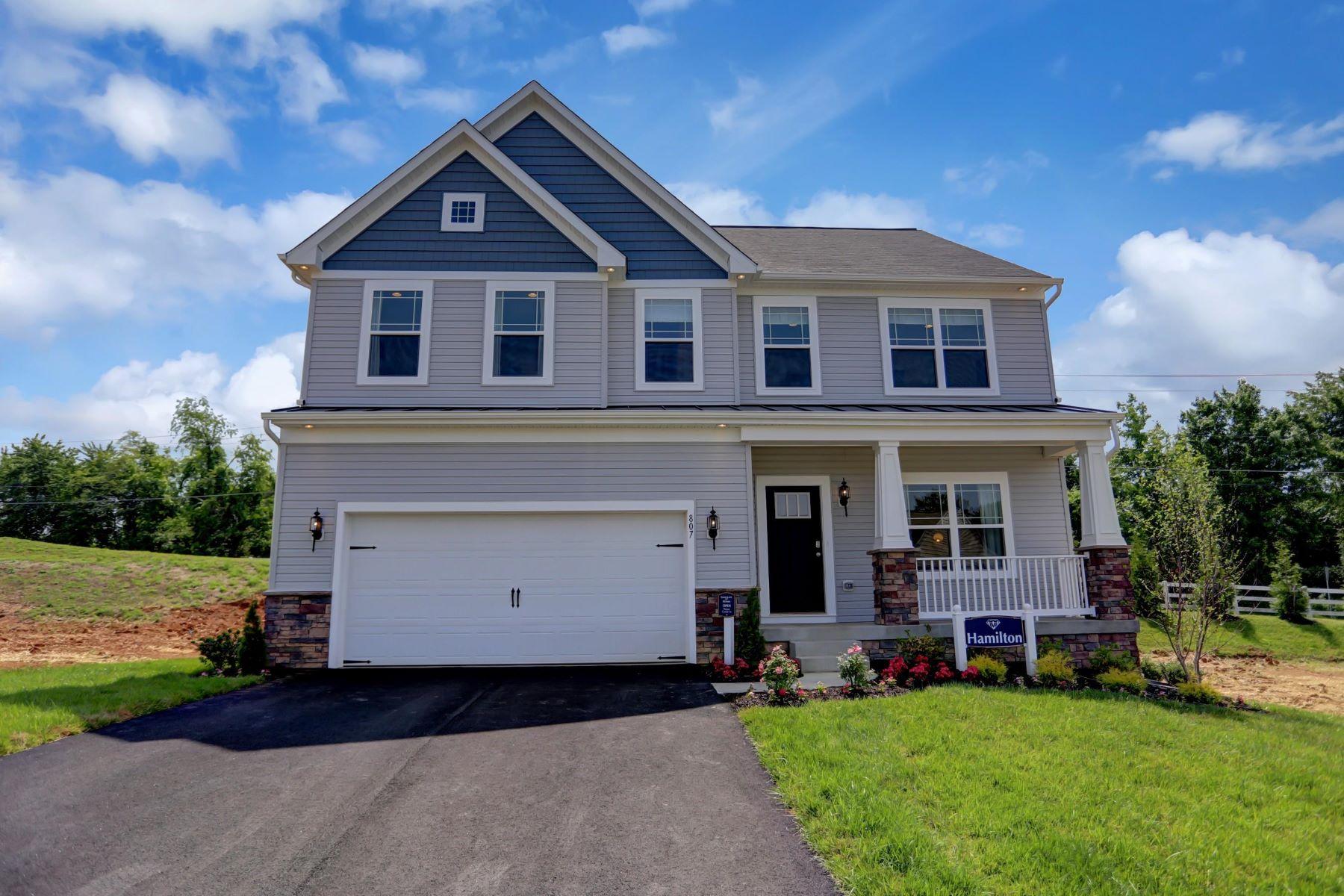Single Family Homes per Vendita alle ore Hamilton Model in Delta 2102-A Bryansville Road, Delta, Pensilvania 17314 Stati Uniti