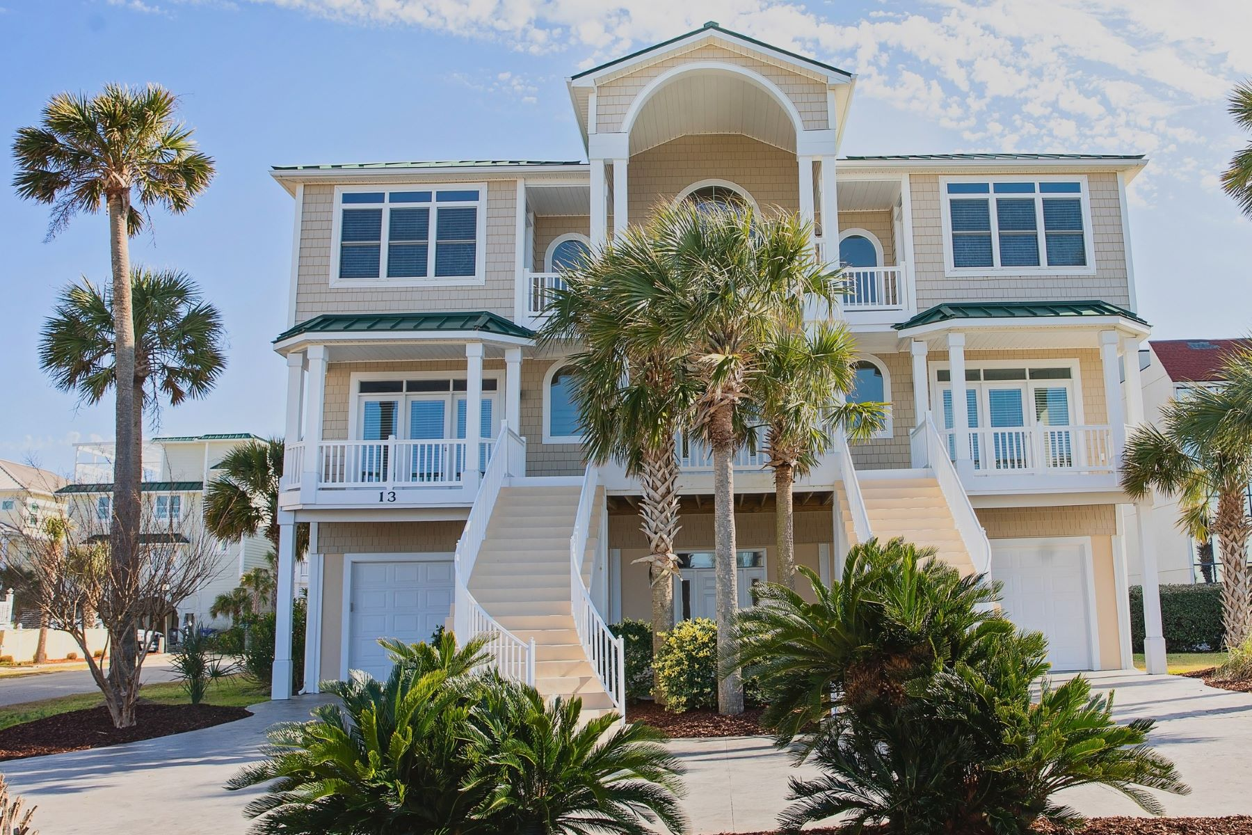 Single Family Homes for Active at Luxurious Coastal Living in Private Gated Community 13 Coggeshall Drive Ocean Isle Beach, North Carolina 28469 United States