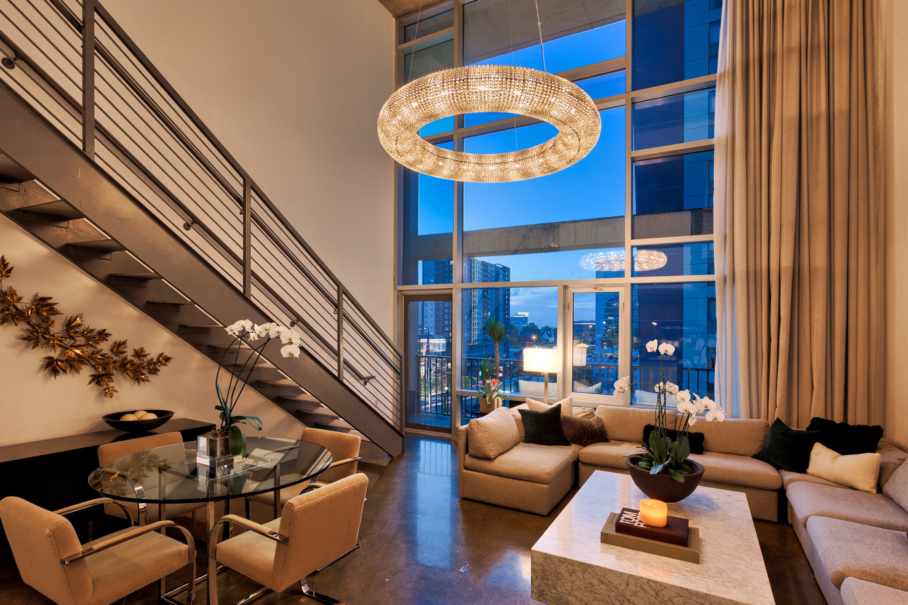 Condominium for Sale at Coveted Two-Story Mezzanine Unit In Midtown's Midcity Lofts 845 Spring St 317 Atlanta, Georgia 30308 United States