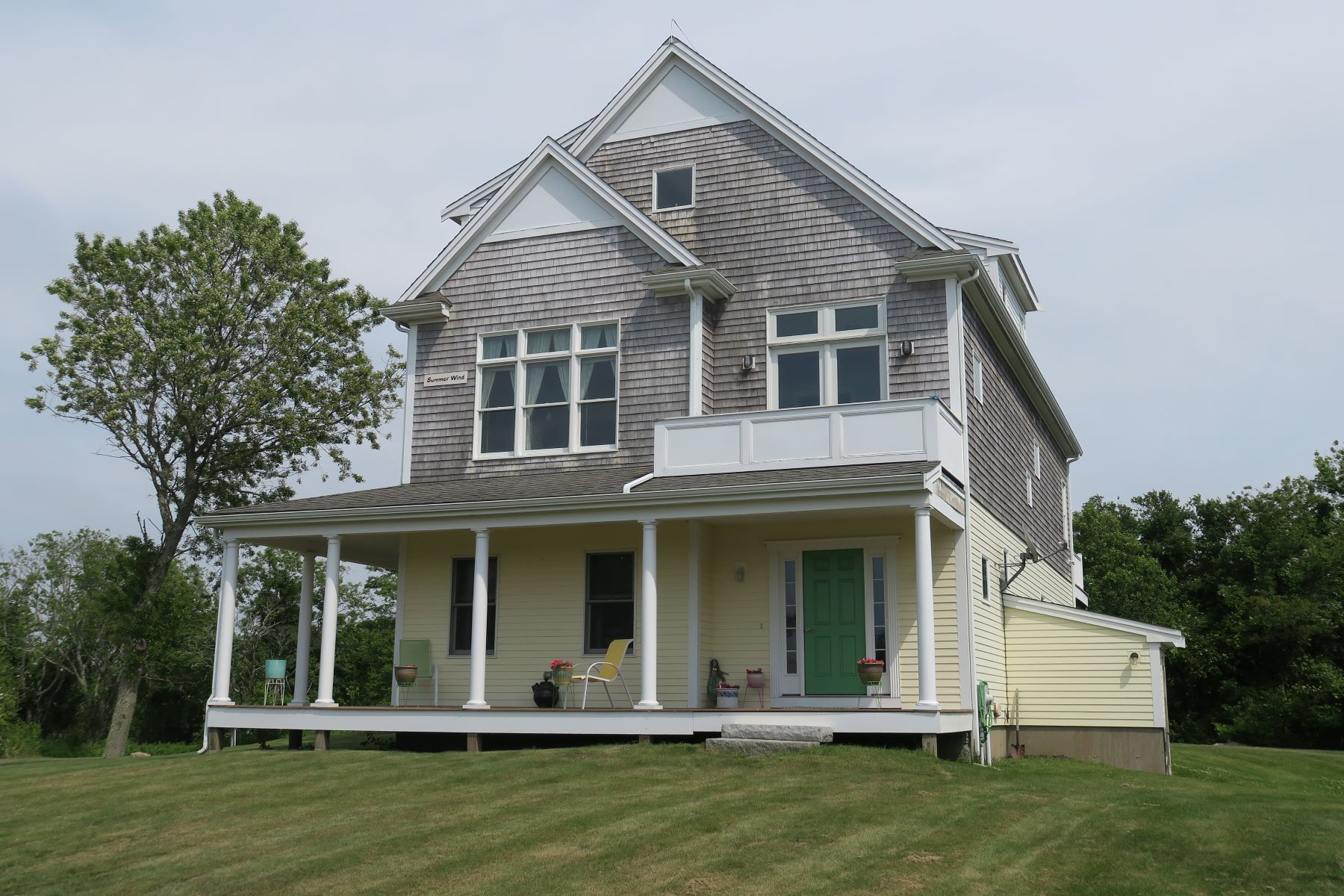Single Family Homes for Sale at Gracious Home 1678 Lakeside Drive Block Island, Rhode Island 02807 United States