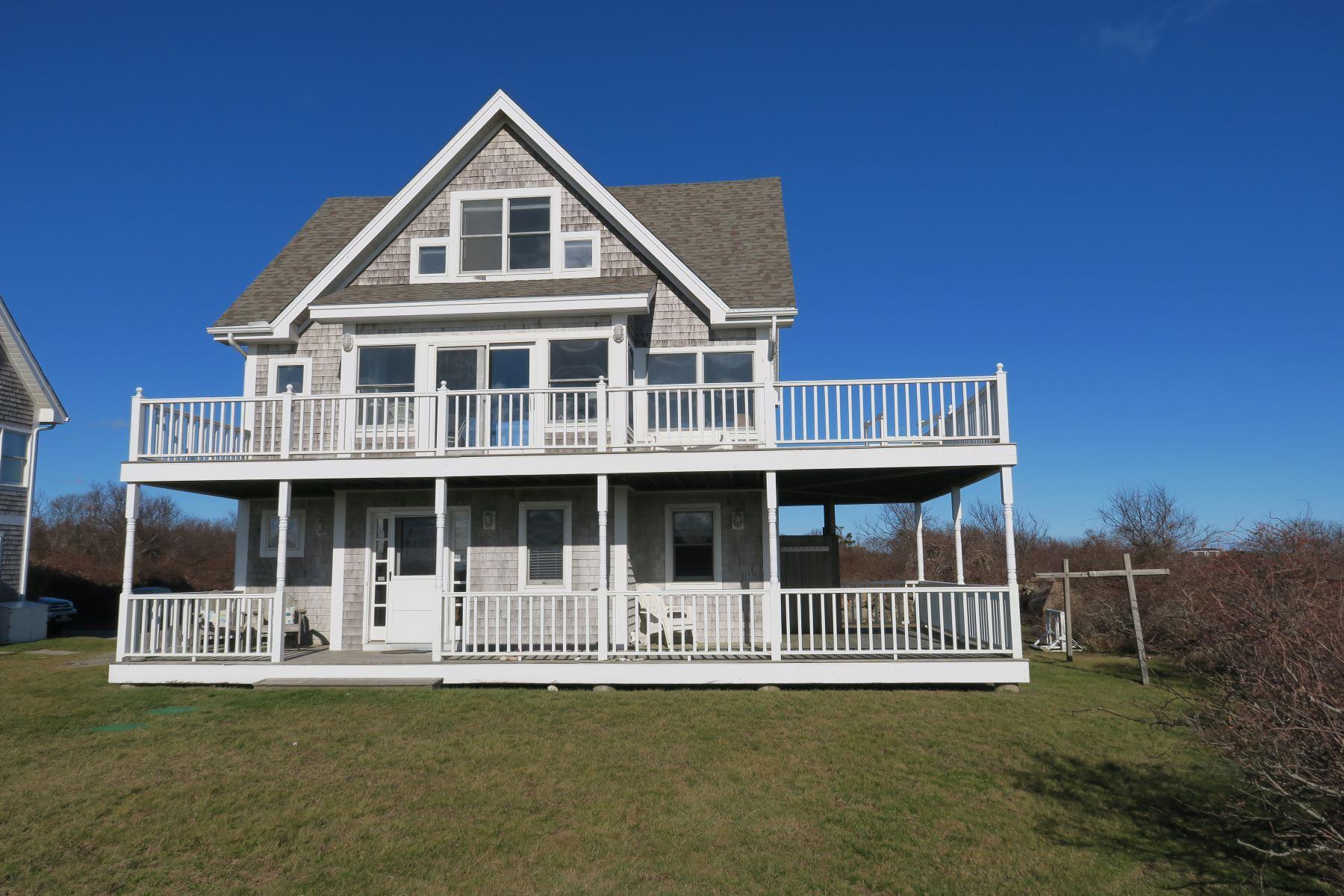Eensgezinswoning voor Verkoop op Crescent Beach Cottage 1728 Corn Neck Road, Block Island, Rhode Island 02807 Verenigde Staten