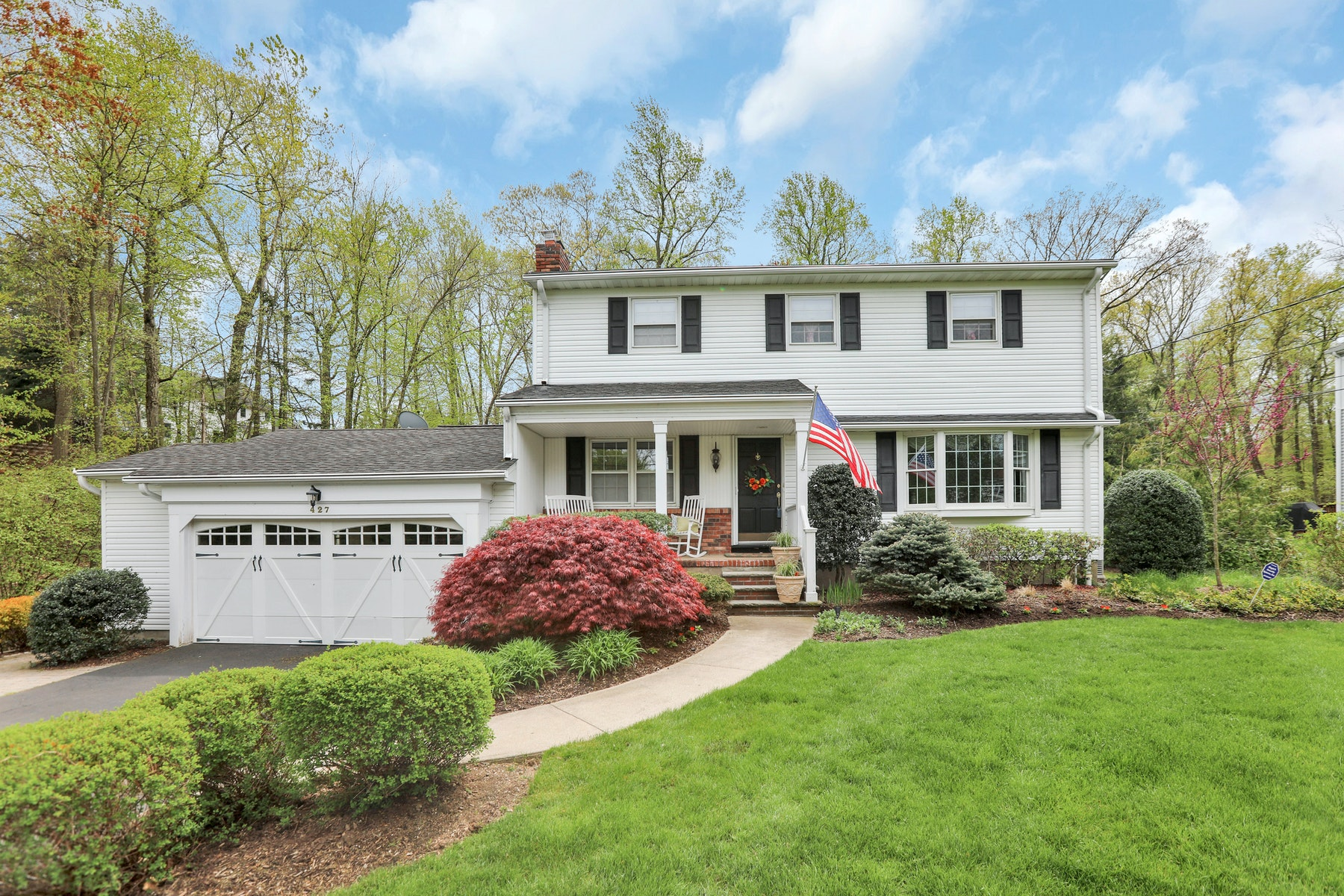 Single Family Homes for Sale at Country Living At Its Best 427 Kelly Court Wyckoff, New Jersey 07481 United States
