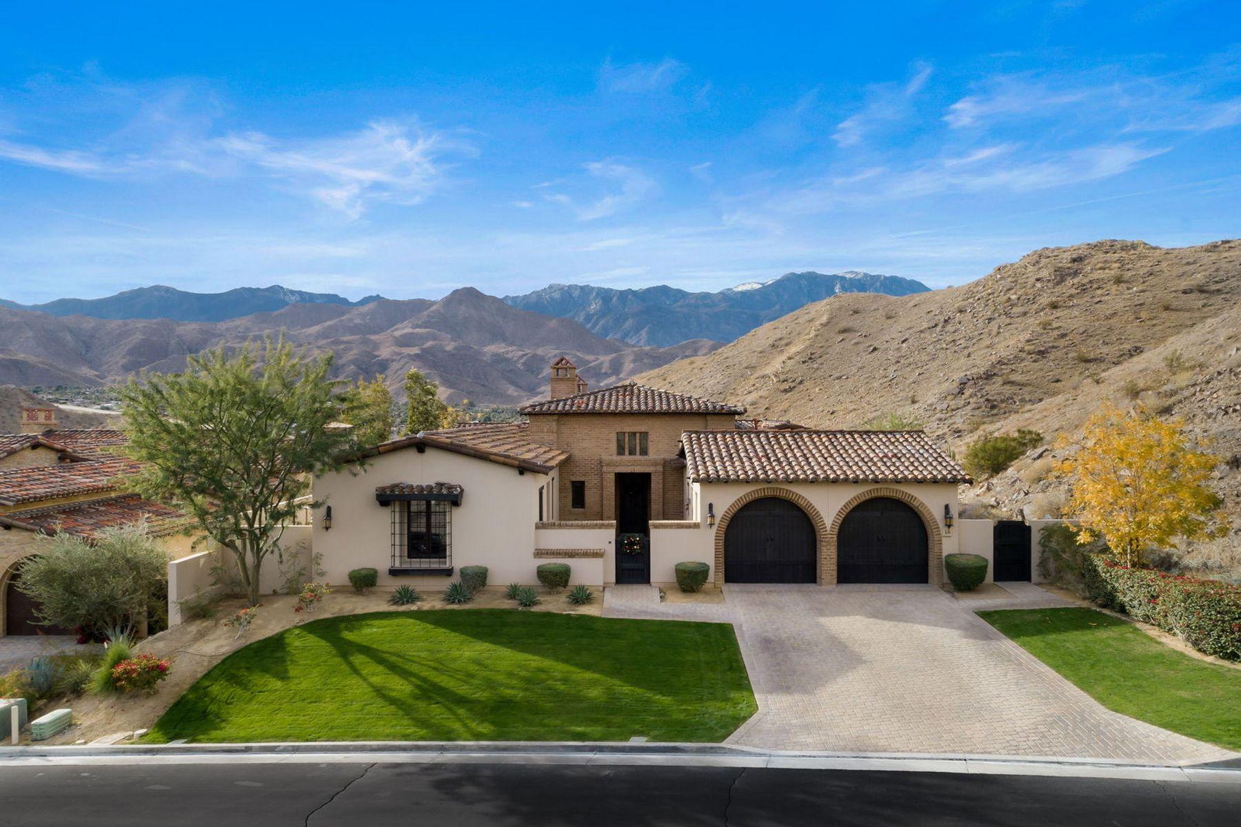 Single Family Homes for Active at 16 Mount San Jacinto Rancho Mirage, California 92270 United States