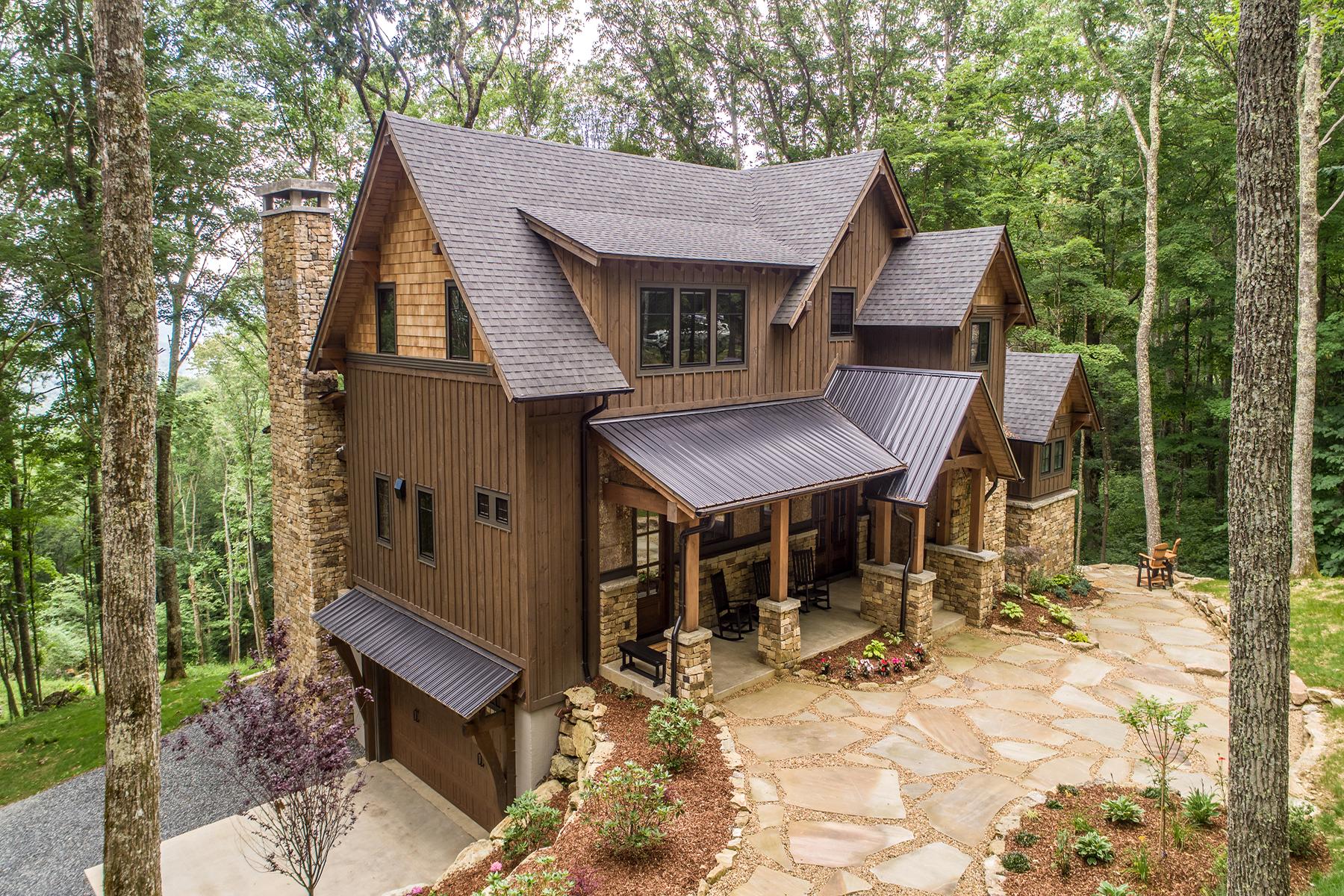 Single Family Homes for Sale at BANNER ELK - THE LODGES AT EAGLES NEST 389 Lodge Woods Trl Banner Elk, North Carolina 28604 United States