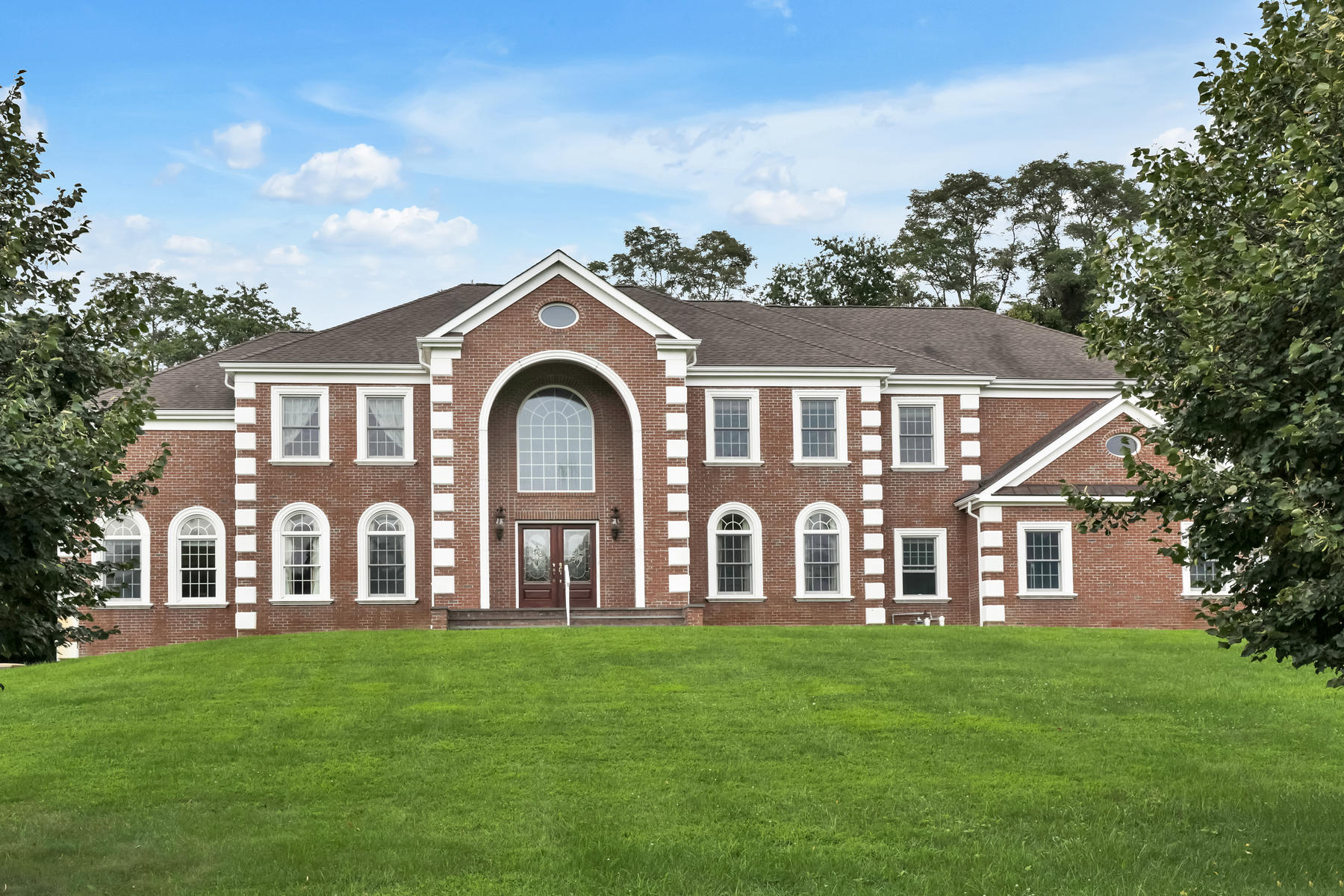 Single Family Homes for Active at Gracious and Elegant Custom Colonial 1 Pennyroyal Court Colts Neck, New Jersey 07722 United States