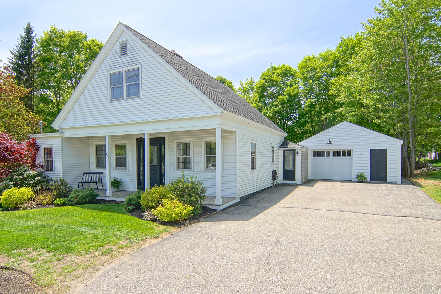 Single Family Home for Sale at Classic Cape with Generous Backyard in the Heart of Rye 17 Central Road Rye, New Hampshire 03870 United States