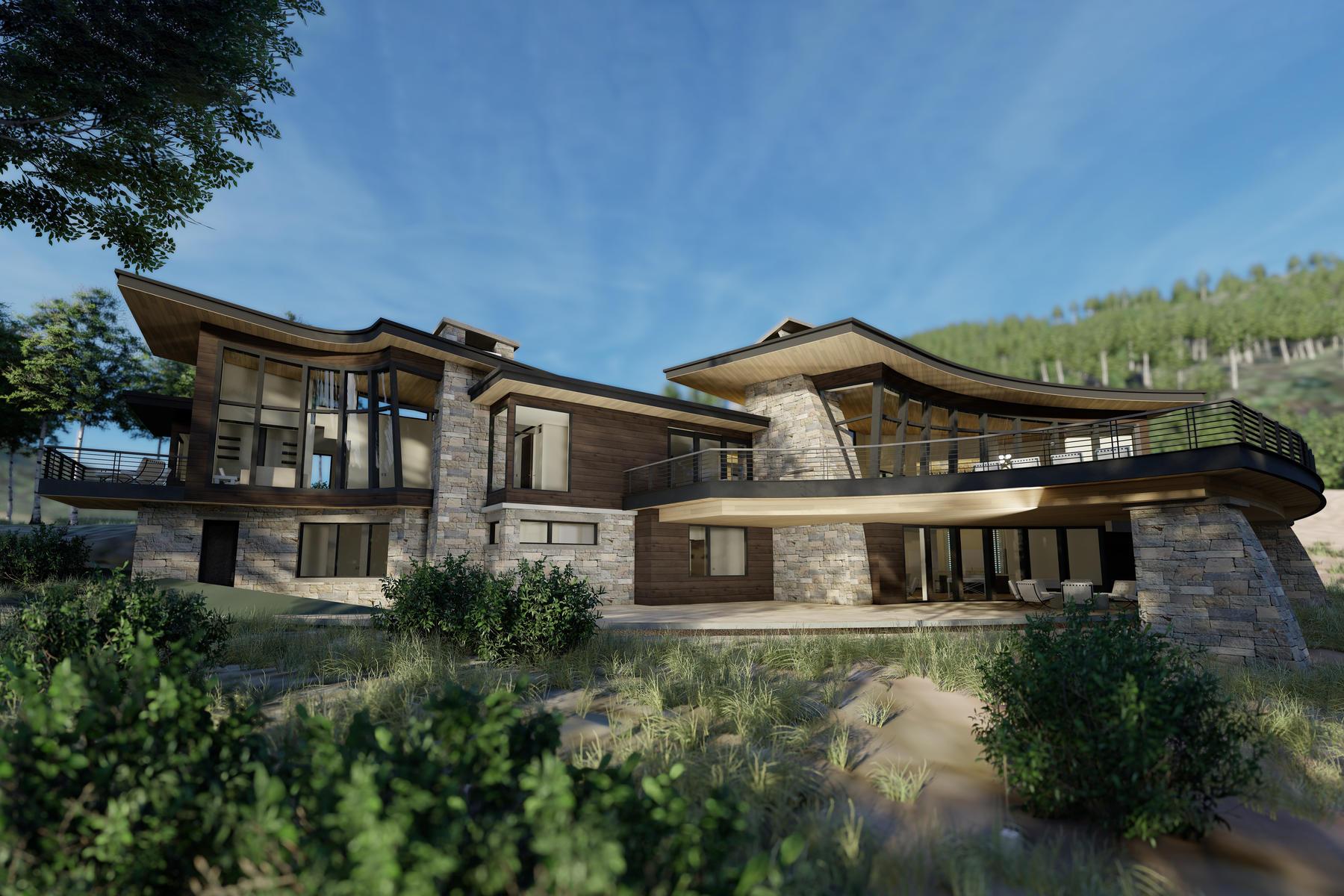 Single Family Homes vì Bán tại Luxury Has a New Address 256 White Pine Canyon Rd, Park City, Utah 84060 Hoa Kỳ