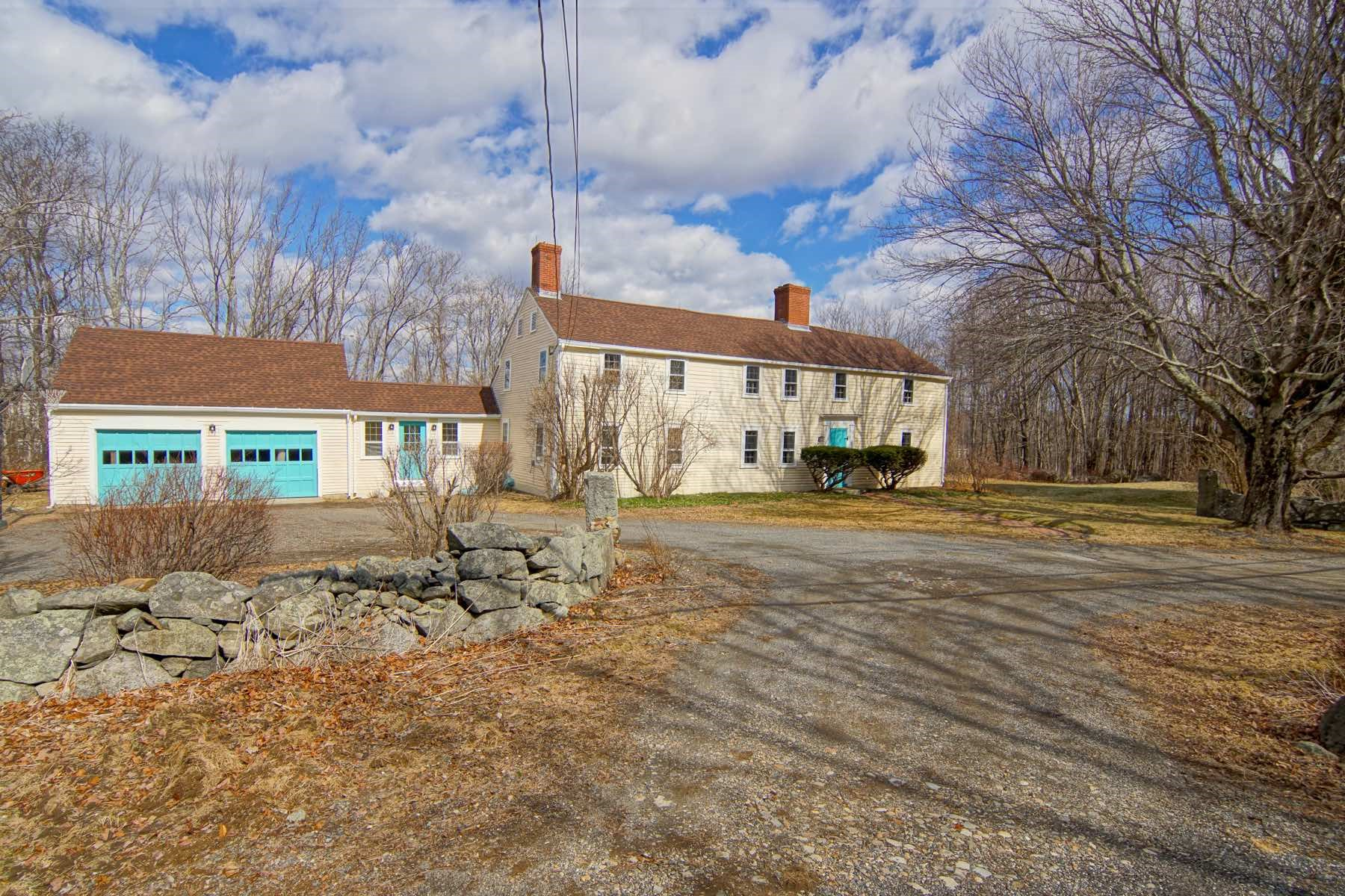Single Family Homes for Sale at Antique Greenland Home 94 Dearborn Road Greenland, New Hampshire 03840 United States