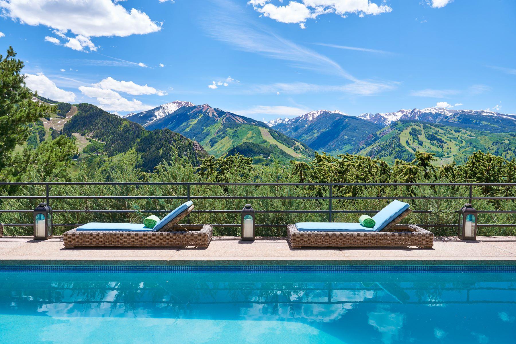 Casa Unifamiliar por un Venta en Best of Red Mountain 85 Sabin Drive Aspen, Colorado 81611 Estados Unidos