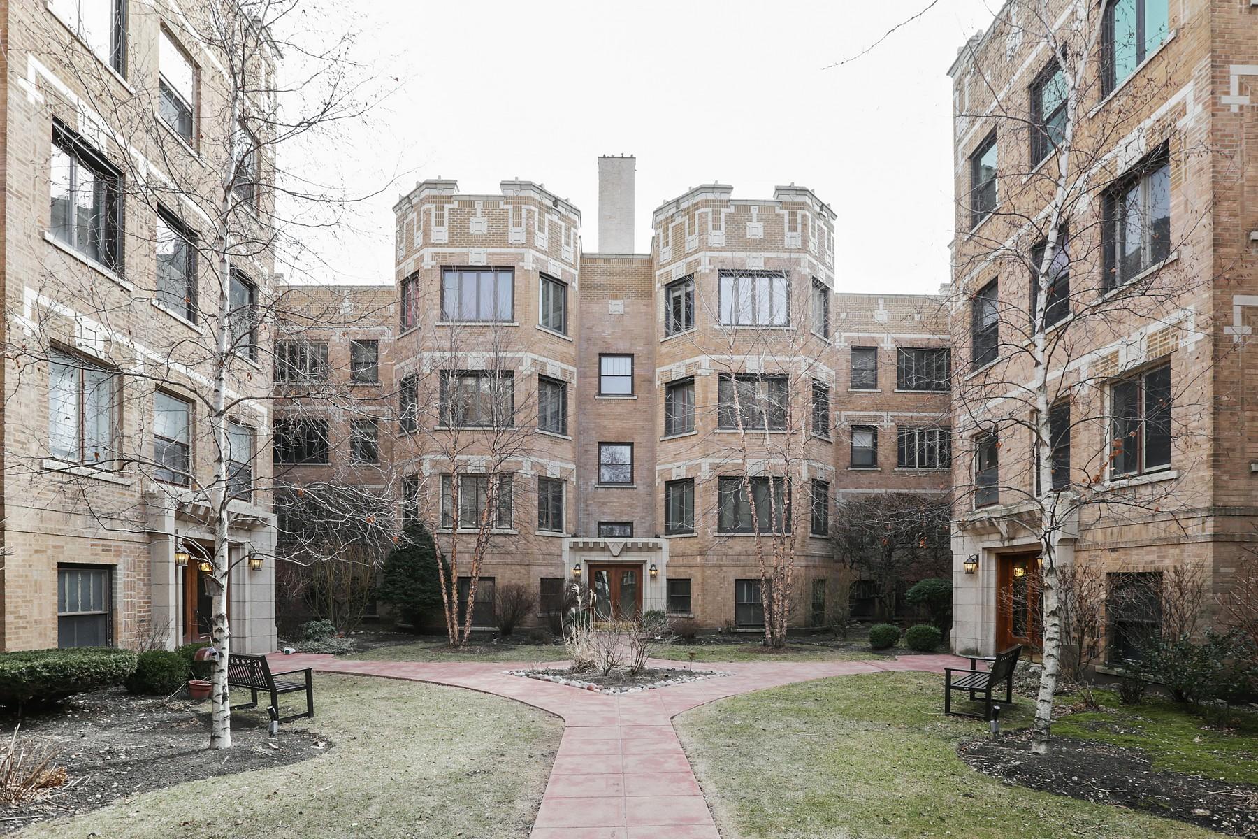 共管式独立产权公寓 为 销售 在 Top Tier Unit in Vintage Building 4733 N Paulina Street Unit 3, Lincoln Square, 芝加哥, 伊利诺斯州, 60640 美国