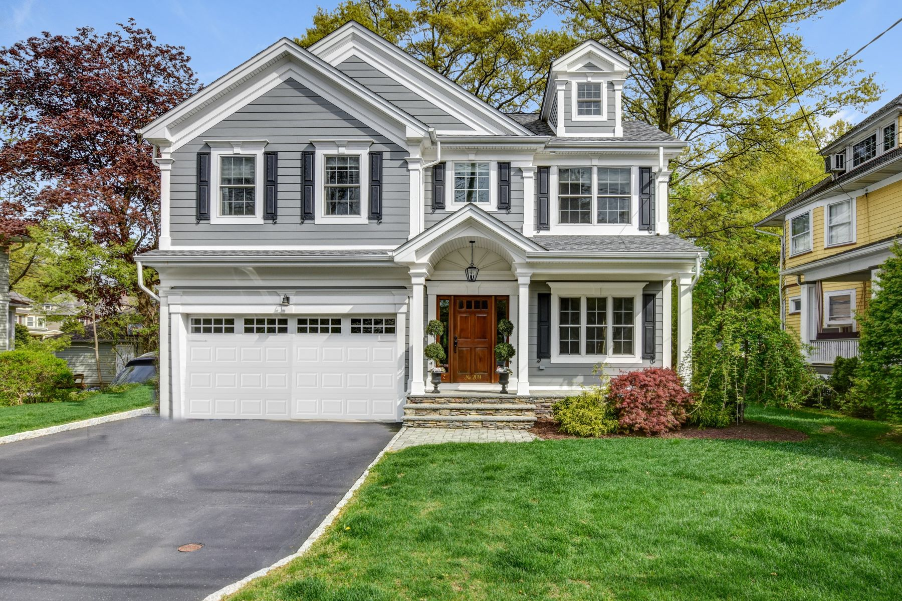 Single Family Homes for Sale at Stunning Colonial 209 Edgewood Avenue Westfield, New Jersey 07090 United States