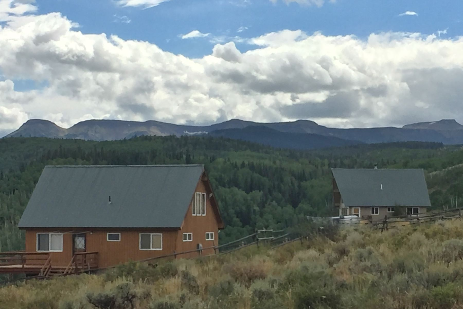 Single Family Homes for Sale at Lookout Point Ranch 25400 County Road 3B Yampa, Colorado 80483 United States