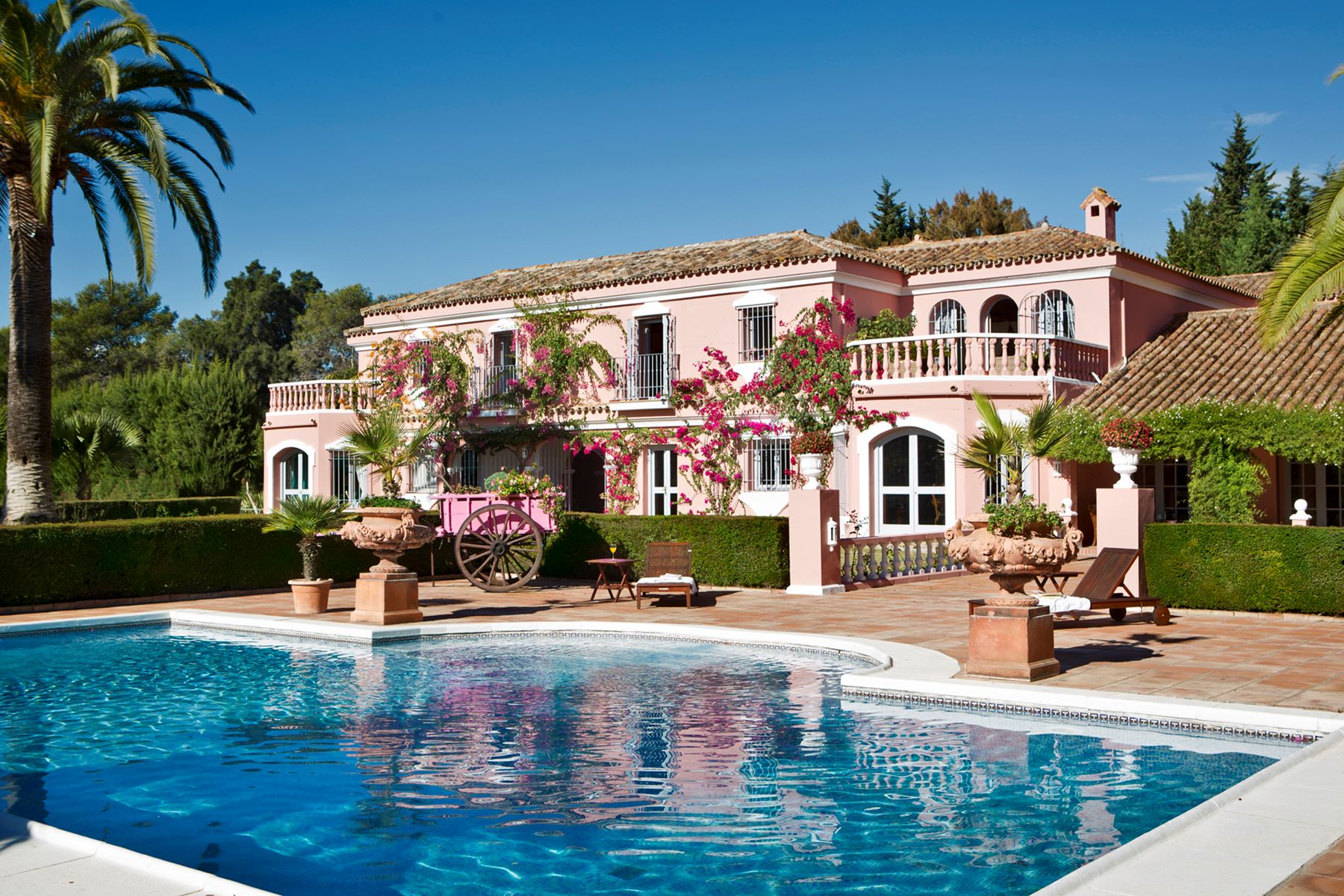 Single Family Home for Sale at A beautiful Andalusia cortijo in Sotogrande Costa Other Spain, Other Areas In Spain, 11310 Spain