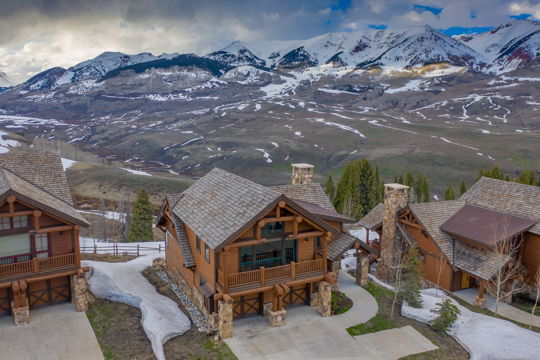 Single Family Homes for Sale at 17 Wildhorse at Prospect 17 Wildhorse Trail Mount Crested Butte, Colorado 81225 United States