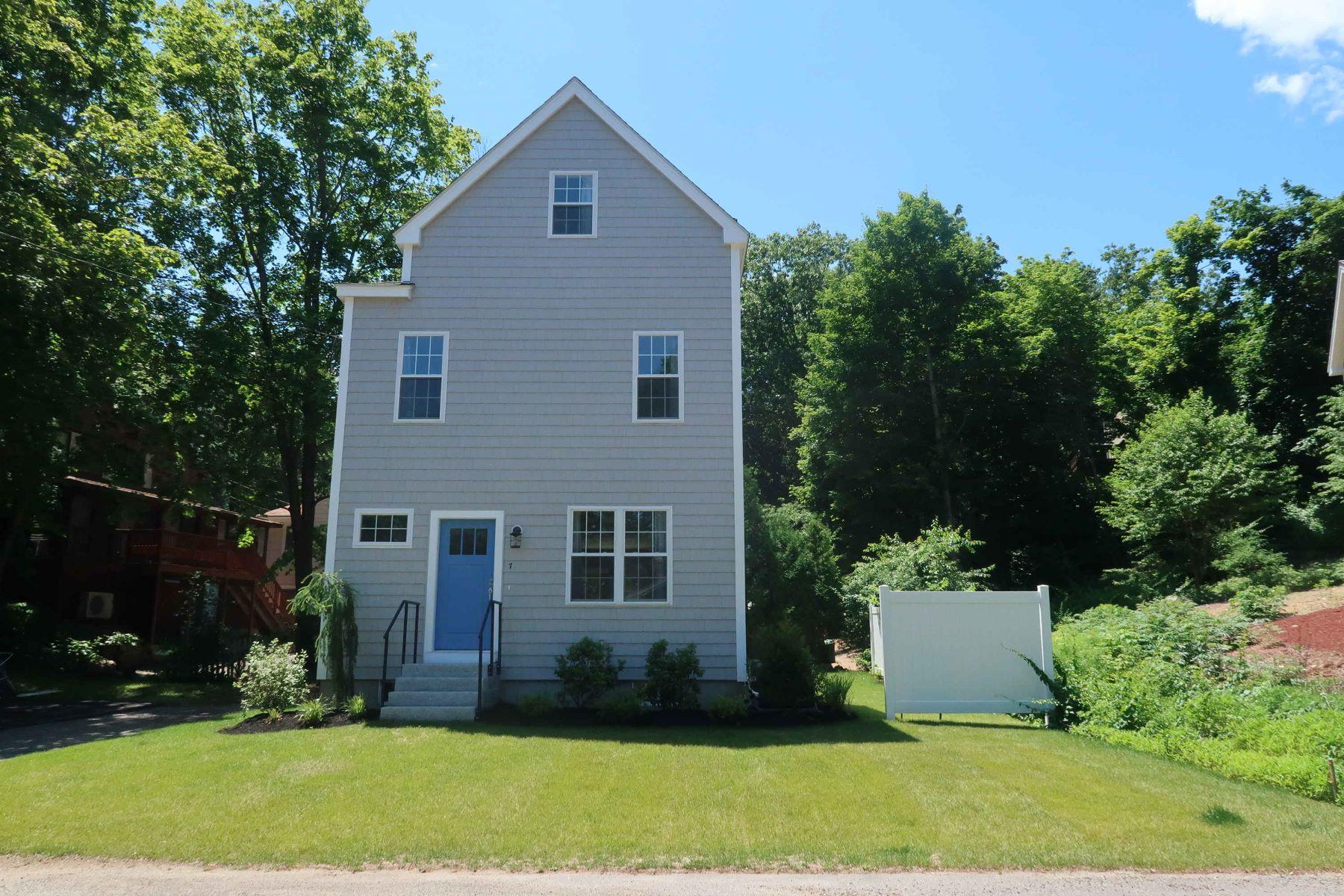 Single Family Homes للـ Sale في Stunning Multi-level Home by Ogunquit Beach 7 Dana Road, Ogunquit, Maine 03907 United States