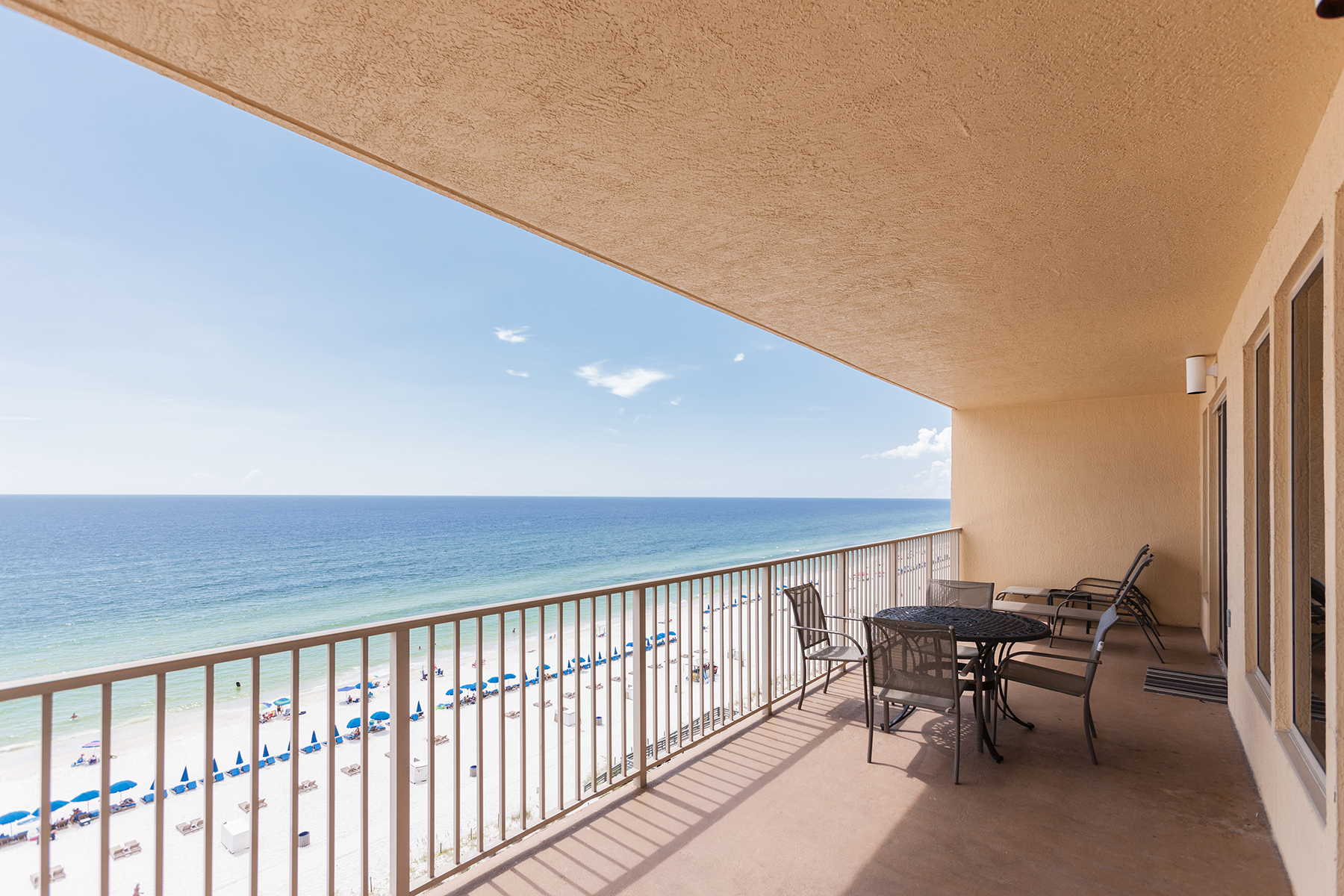 Kat Mülkiyeti için Satış at Beautiful End Unit at Gulf Crest with Panoramic Views 8715 Surf Dr 801A Panama City Beach, Florida 32408 Amerika Birleşik Devletleri