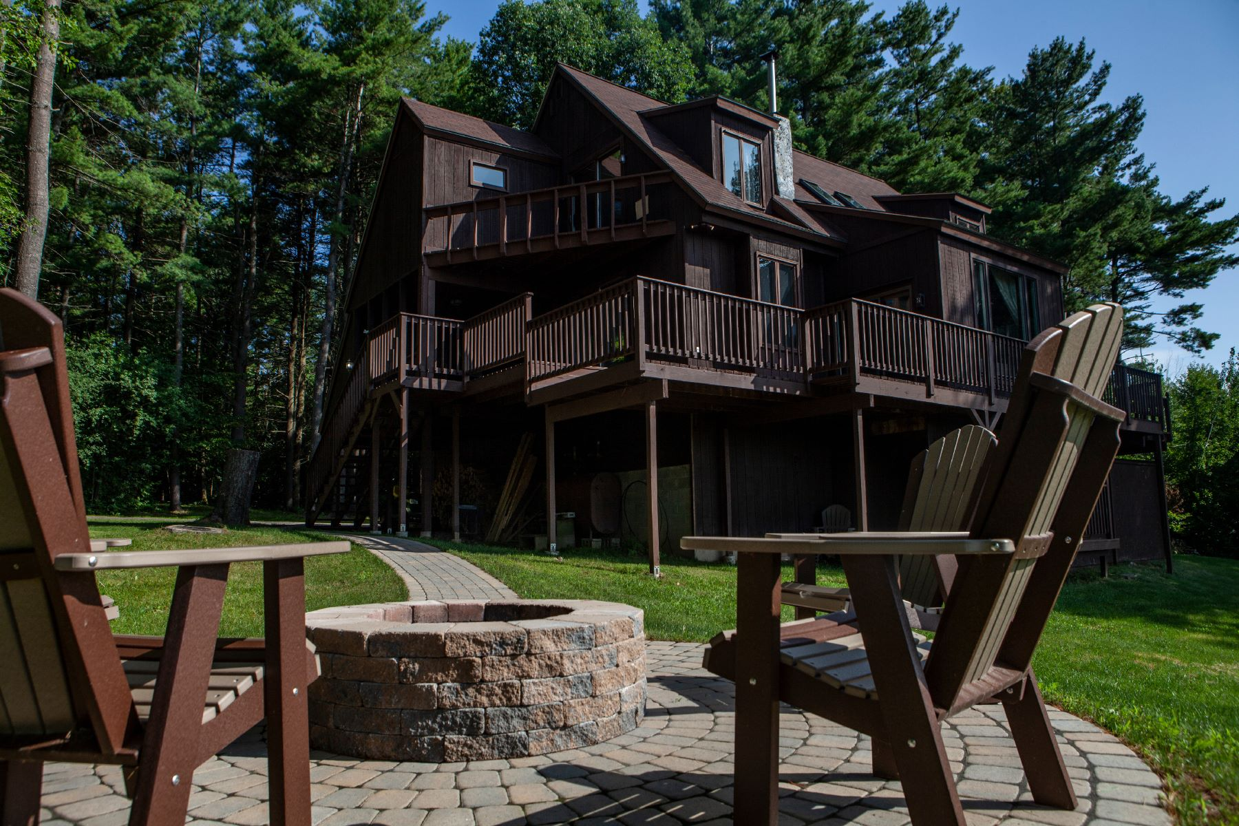 Single Family Homes for Sale at Northern Foothills of the Adirondacks 414 Calkins Road Peru, New York 12972 United States