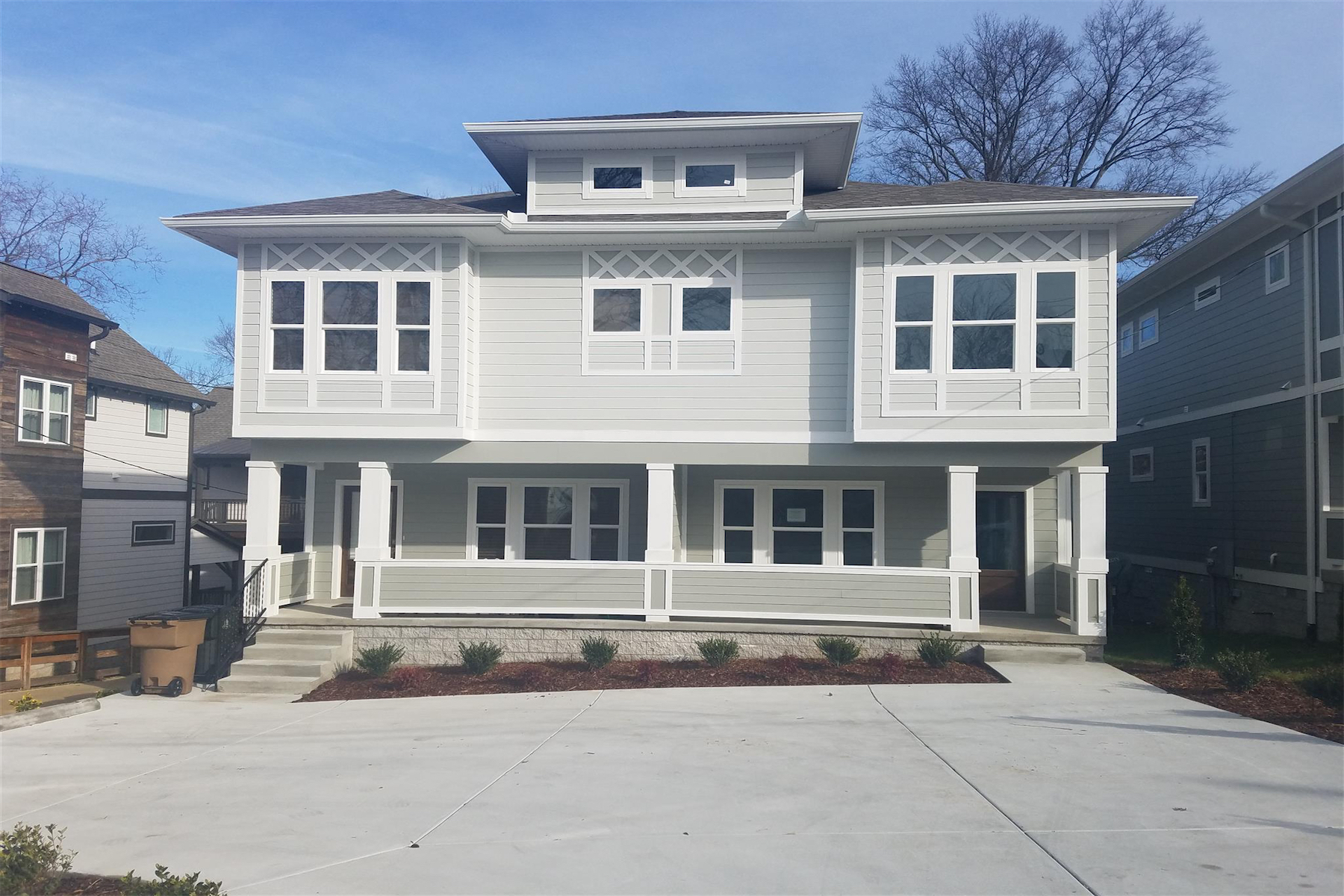 Single Family Home for Rent at Beautiful East Nashville Home 1001 B Spain Avenue Nashville, Tennessee 37216 United States
