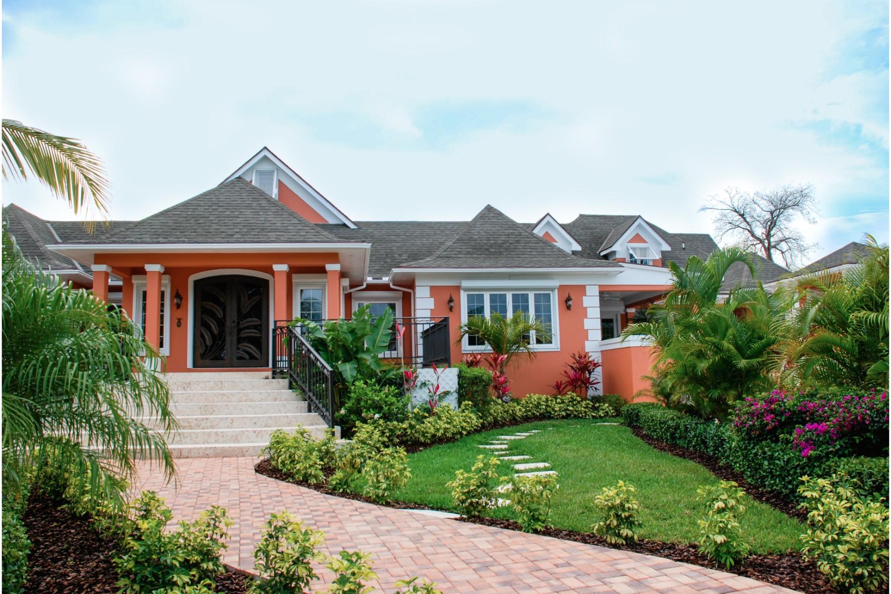 Maison unifamiliale pour l Vente à Monte Carlo Lyford Cay, New Providence/Nassau, Bahamas