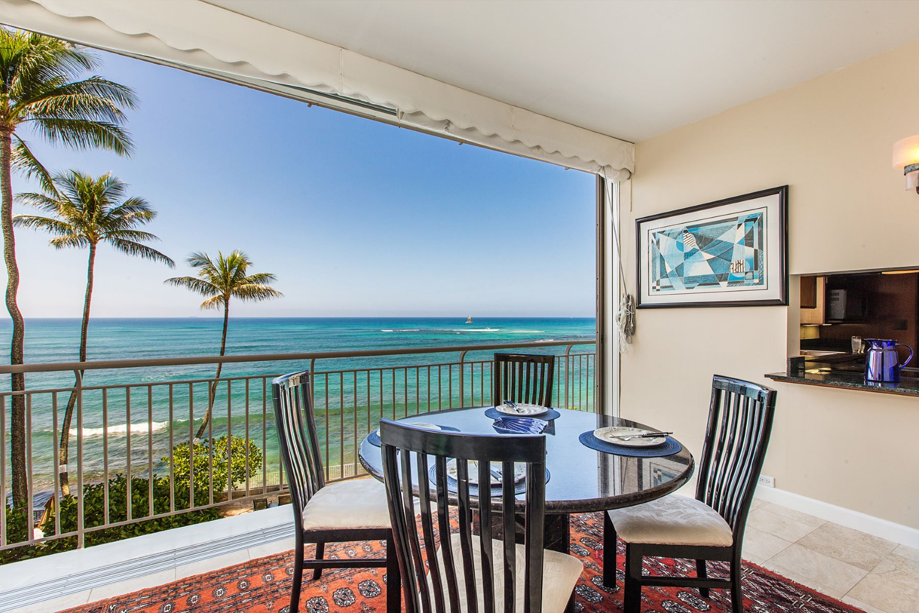 Condominium for Sale at Spellbinding Ocean Views 2969 Kalakaua Avenue #202 Honolulu, Hawaii 96815 United States