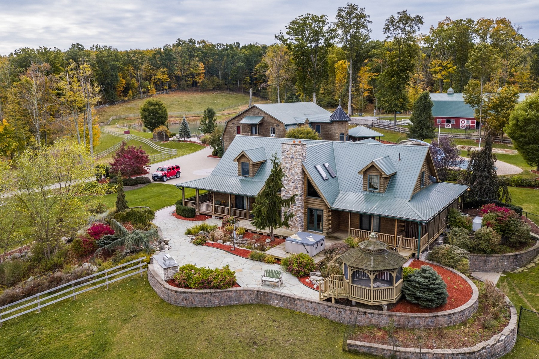 Single Family Home for Sale at Expansive Retreat on 38+ Acres 95 Judson Road Montgomery, New York 12549 United States