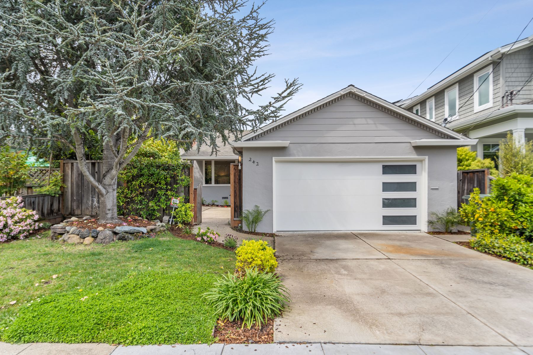 Single Family Homes for Sale at Magnificently Remodeled Home in White Oaks 242 Park Avenue San Carlos, California 94070 United States